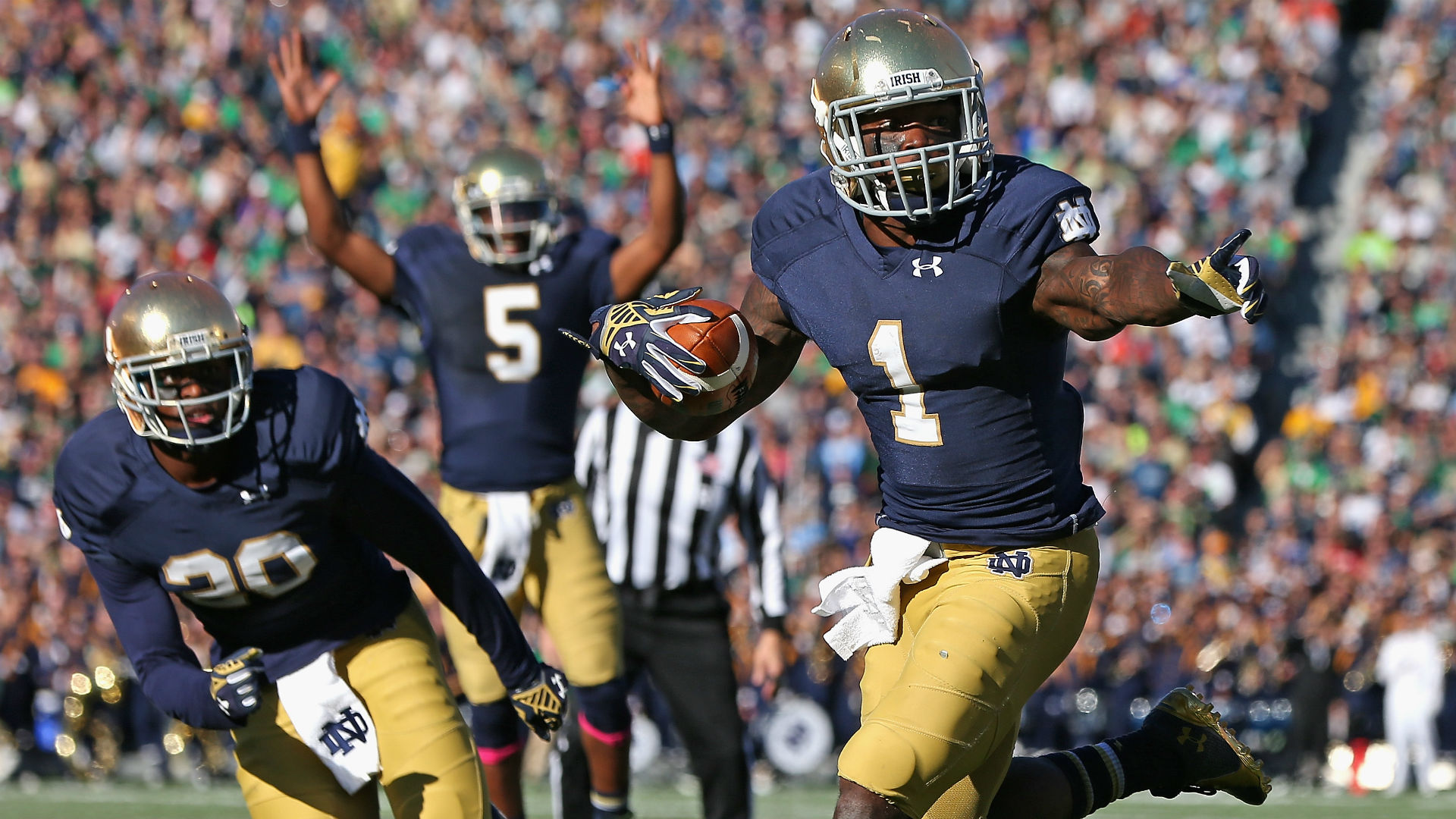 Irish RB Greg Bryant academically ineligible for season
