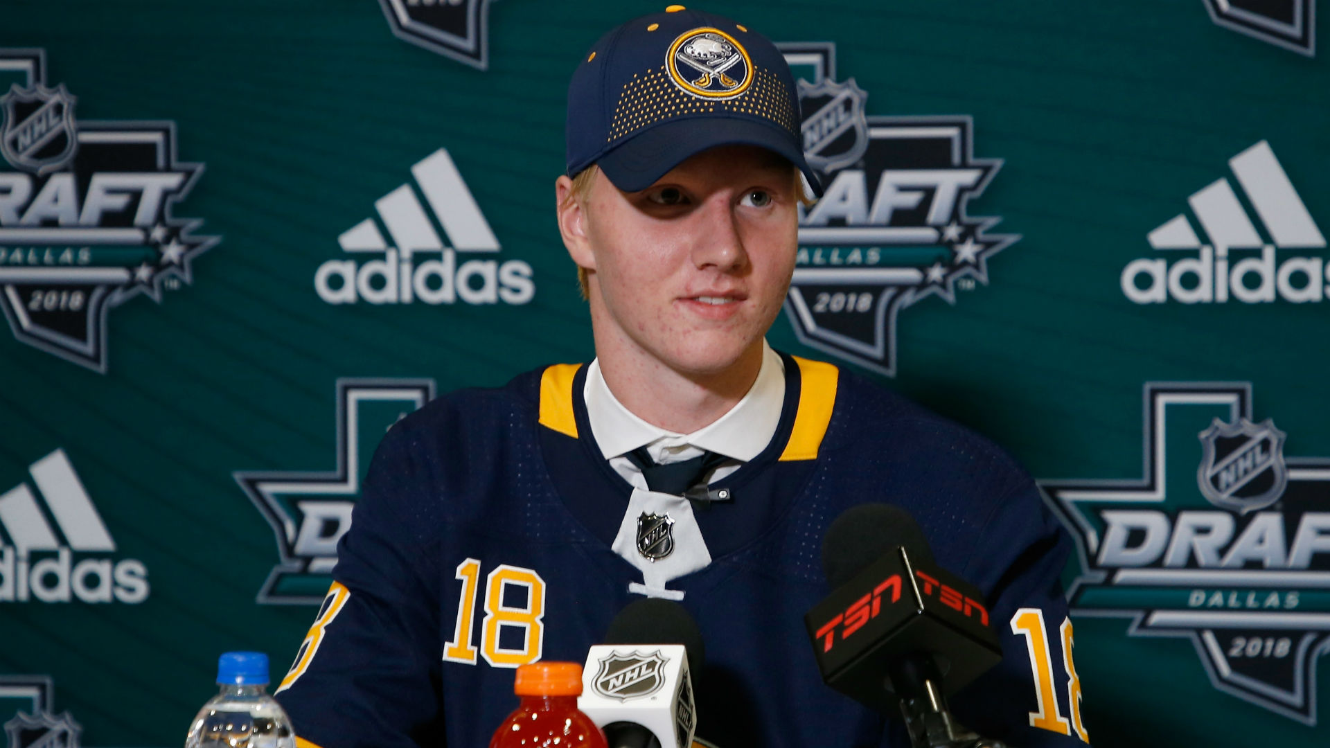 'He doesn't need to be the savior', but expectations high for Sabres' top overall pick Rasmus Dahlin
