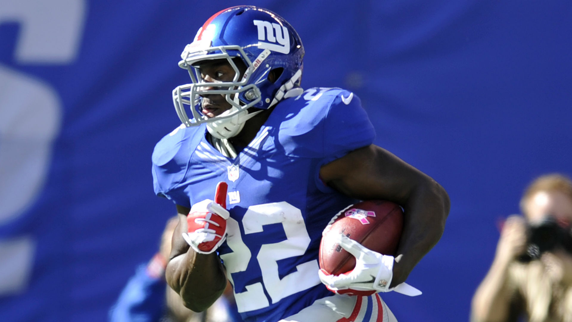 Giants' David Wilson doesn't receive medical clearance