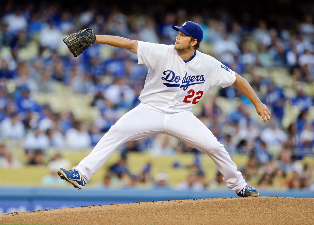 Los Angeles Dodgers pitchers: Clayton Kershaw