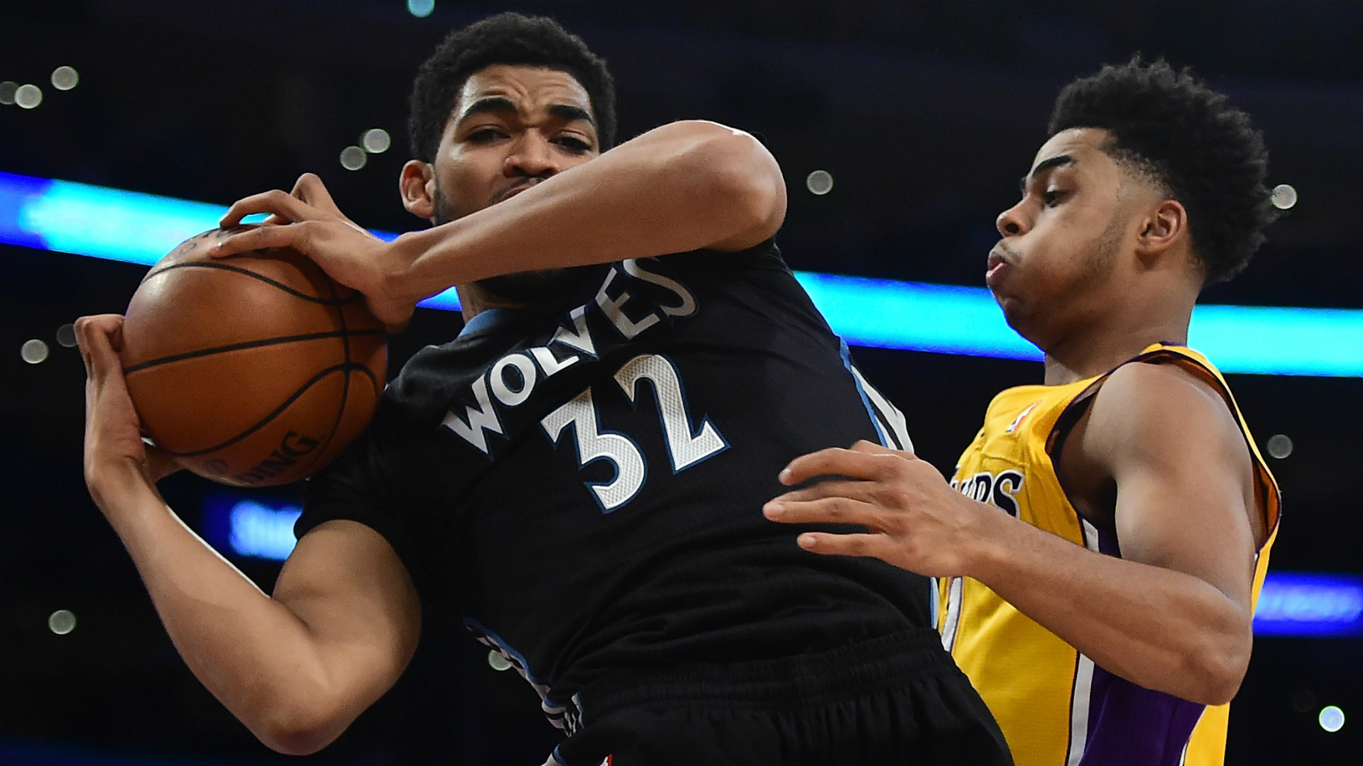 Karl-Anthony-Towns-DAngelo-Russell-Getty-FTR-111815