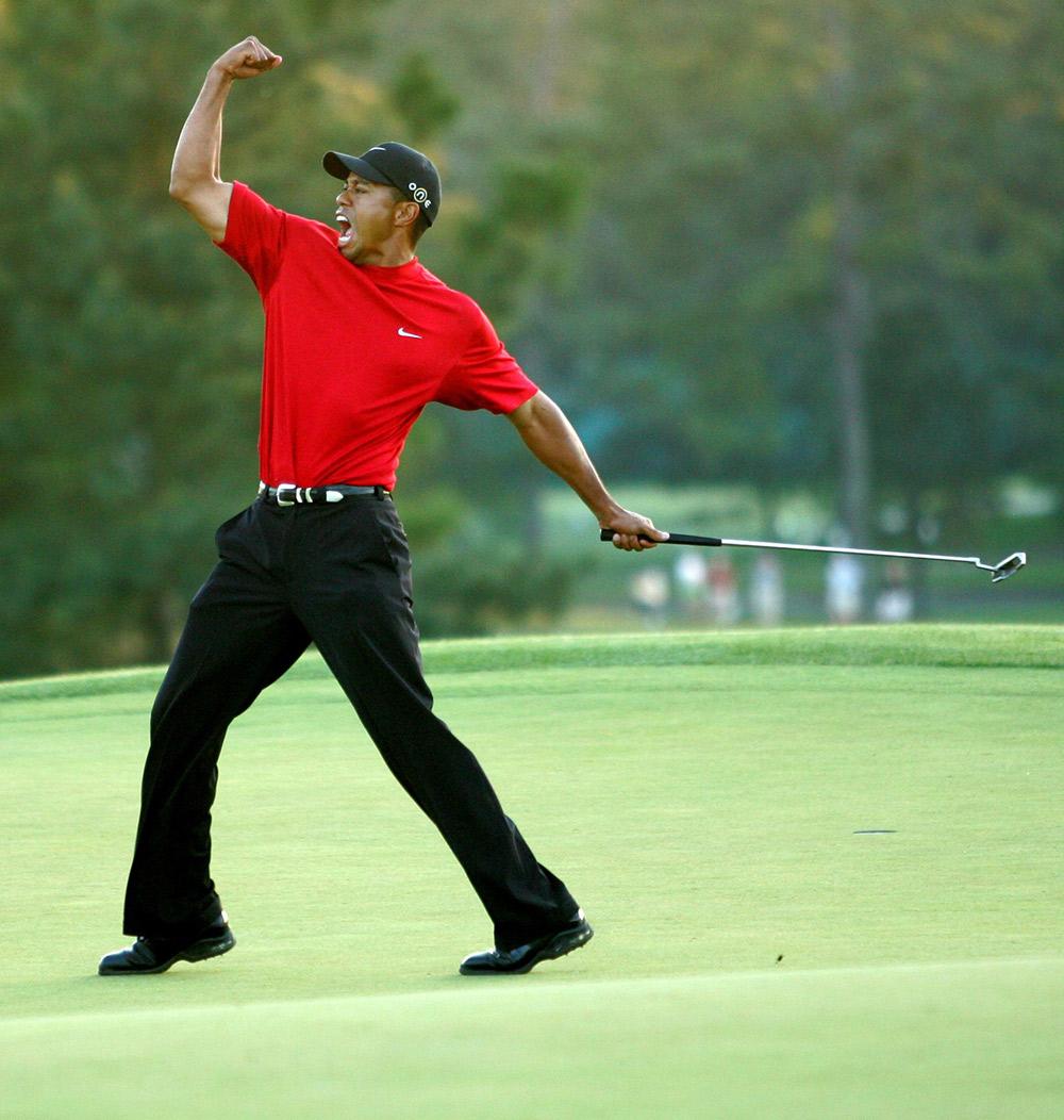 2005: Tiger Woods