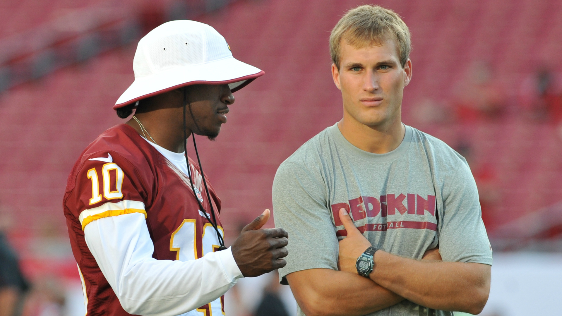 Kirk Cousins fires a shot at Robert Griffin III with a wedding photo ...