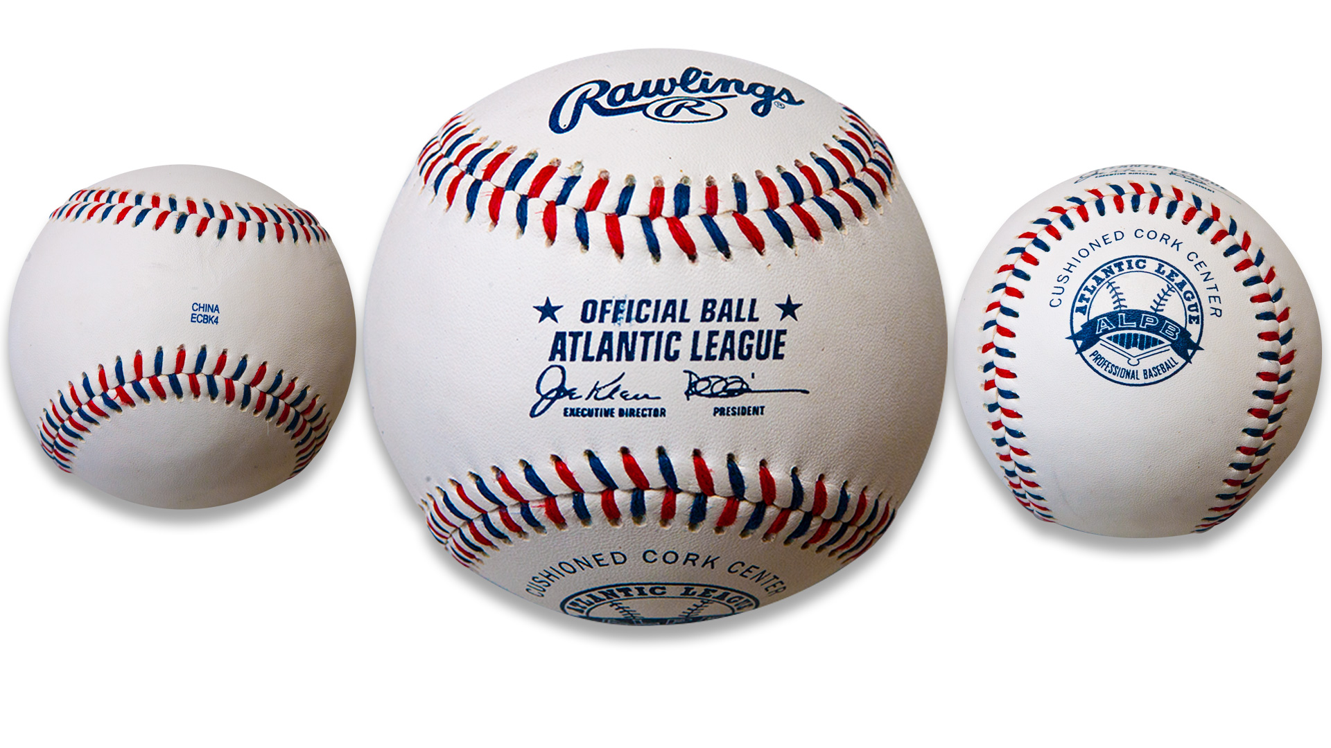 Atlantic League set to introduce red, white and blue baseballs