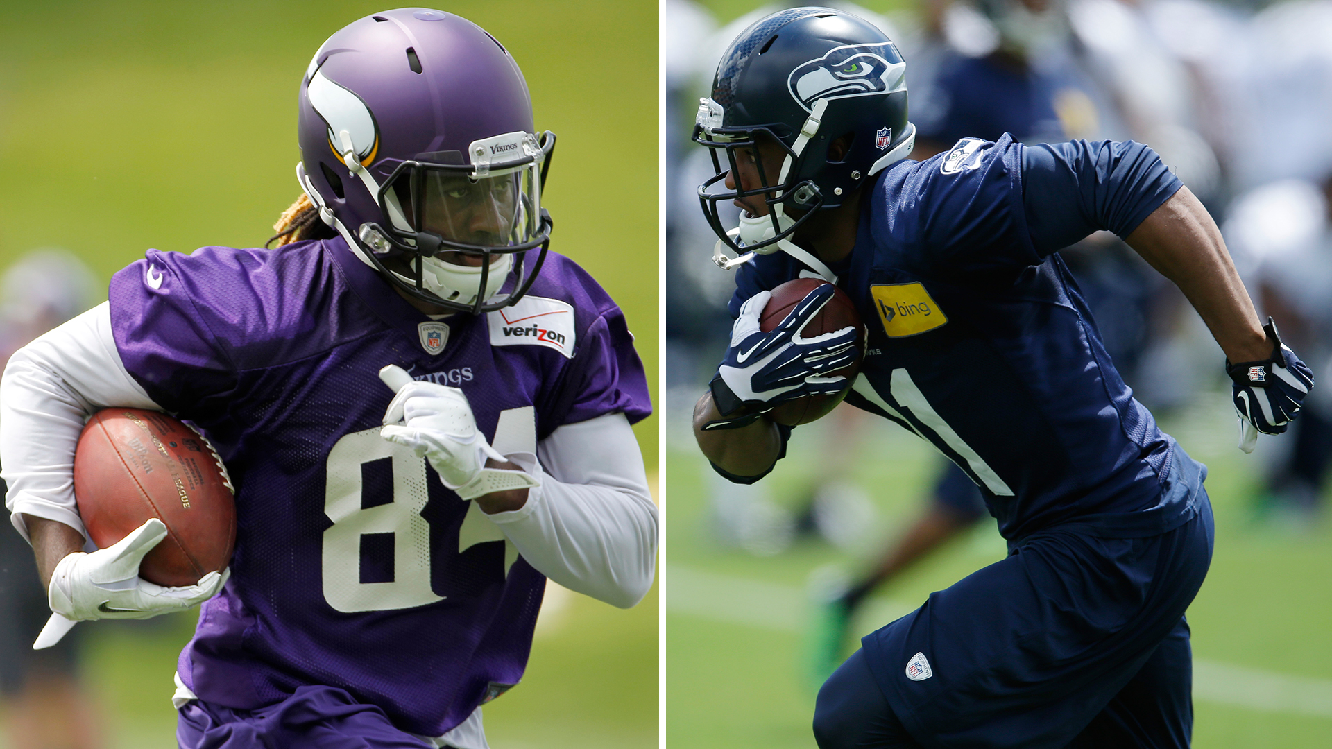 The Decider: Percy Harvin vs. Cordarrelle Patterson