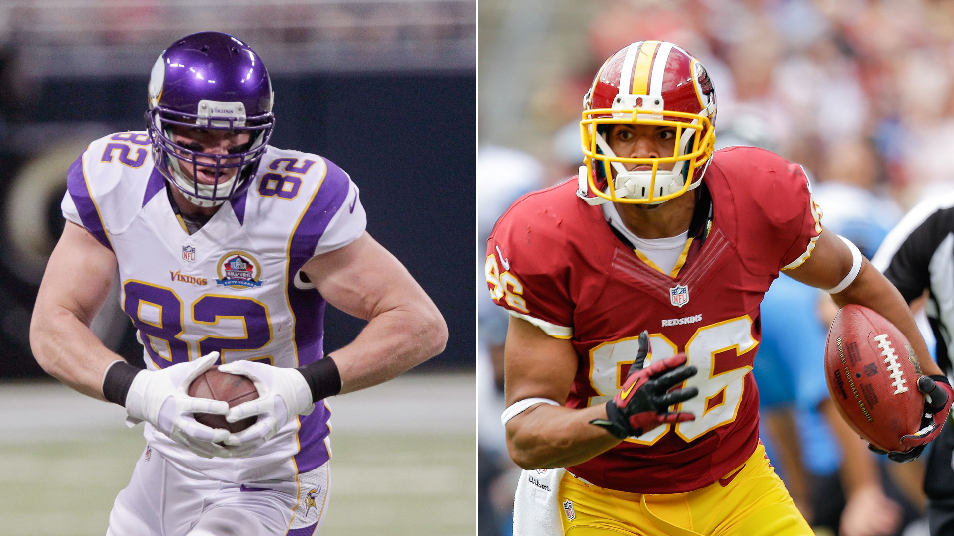 The Decider: Jordan Reed vs. Kyle Rudolph