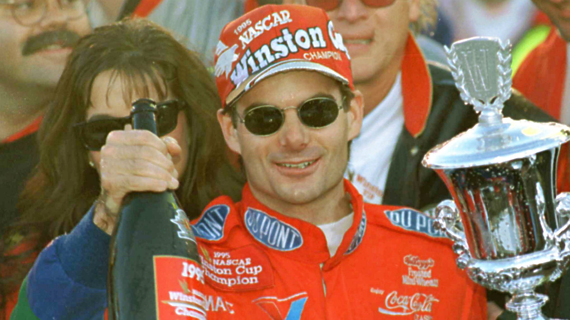 David Letterman to young Jeff Gordon: 'You're just a kid'