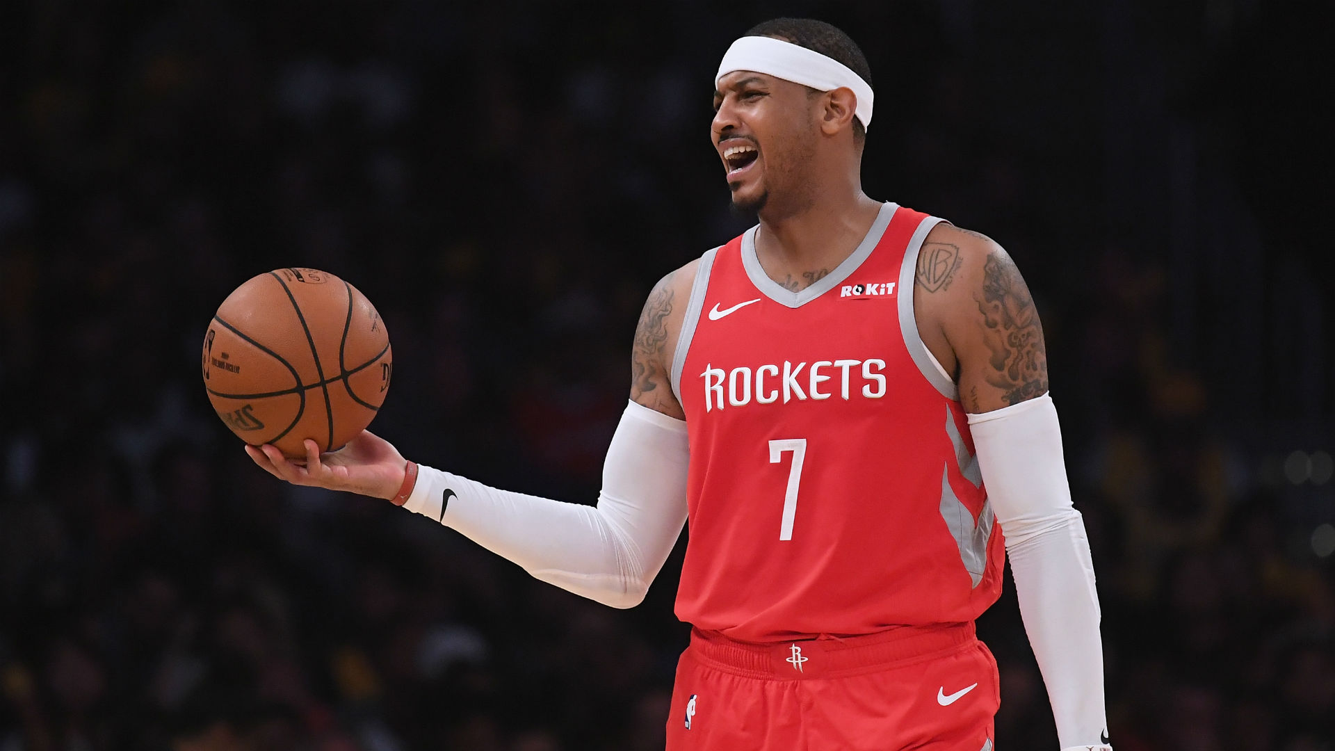 Rockets Trade Carmelo Anthony To The Bulls