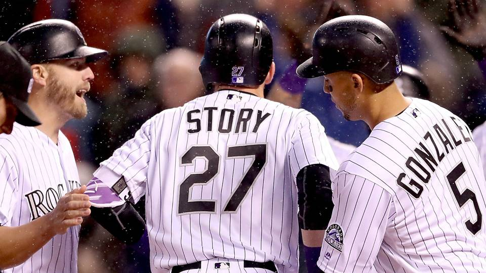 Rockies Mash Grand Slam Inside The Park Home Run In Same Inning