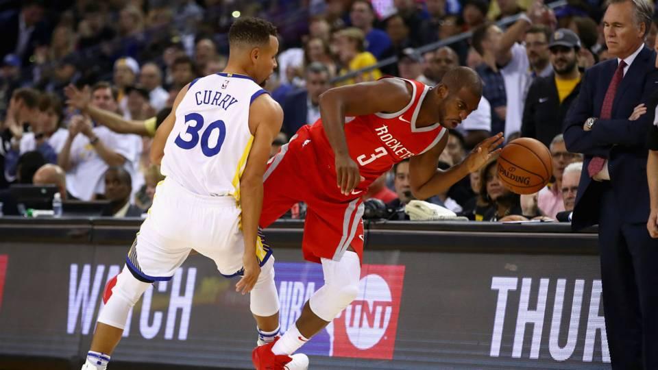 f003188ed Warriors vs. Rockets  Score