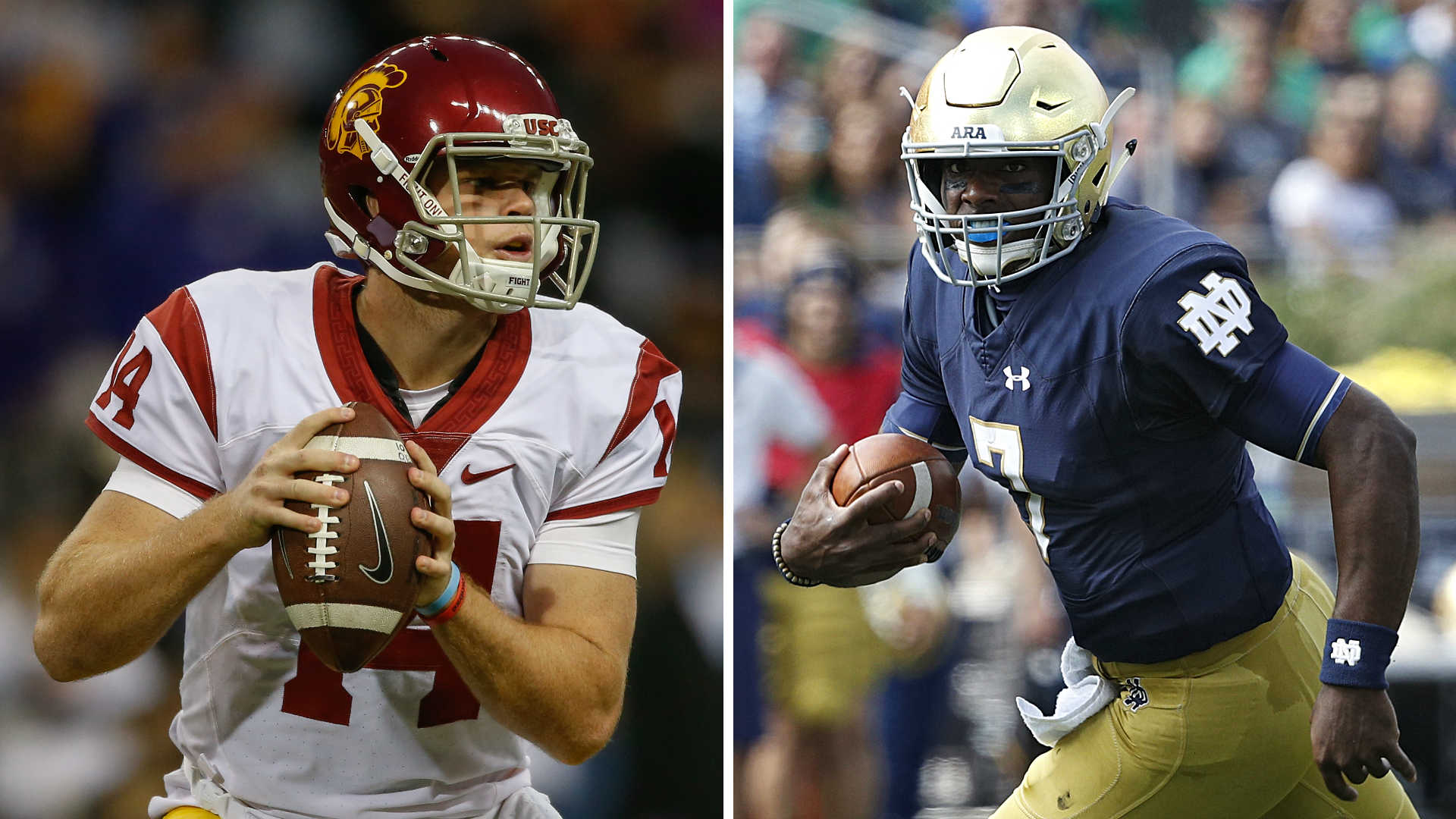 USC at Notre Dame Fighting Irish cruise to blowout win NCAA Football