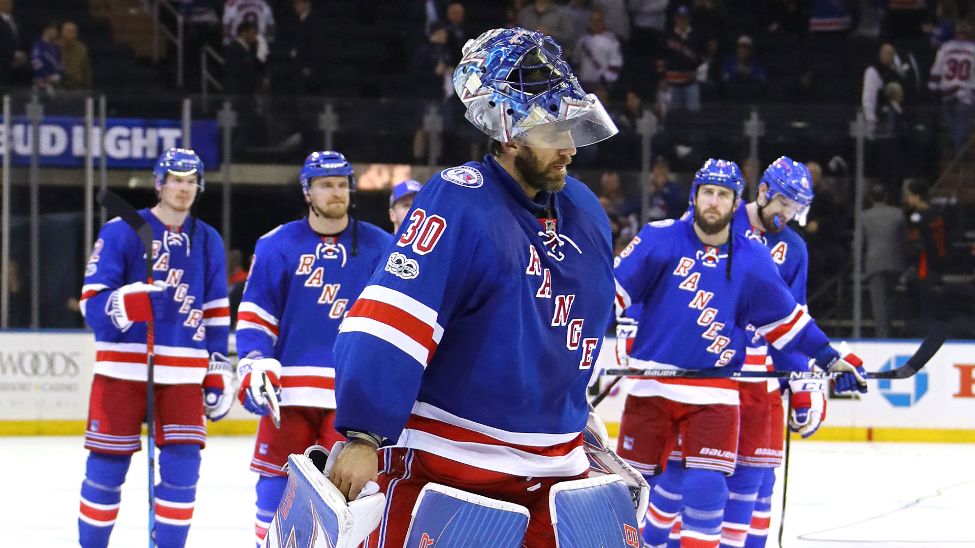 Rangers head into offseason after second-round playoff loss