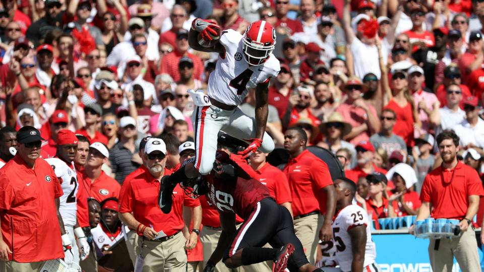 South Carolina vs Georgia (Getty Images)