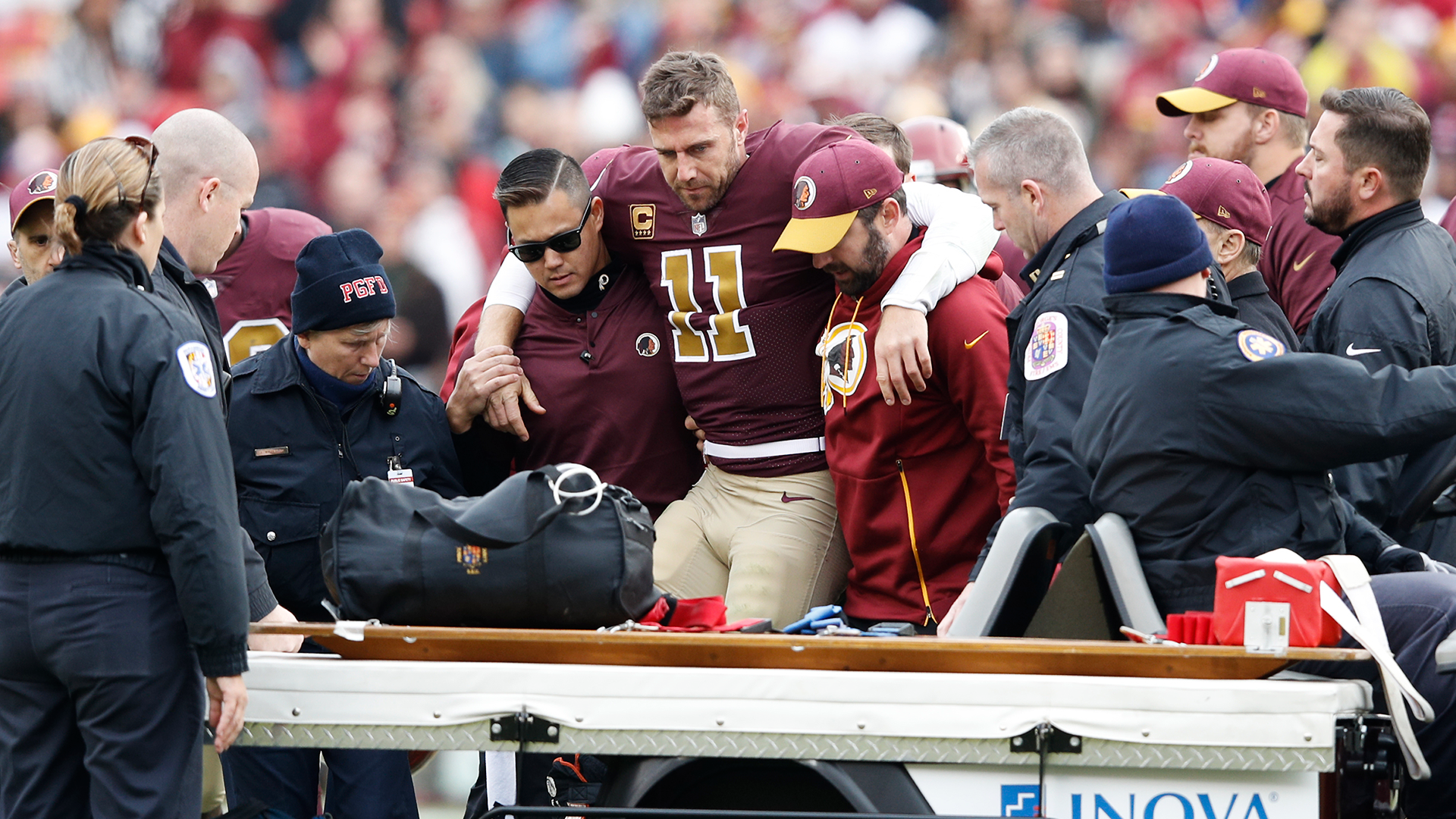 What we know about Alex Smith's potential 'career-threatening' injury