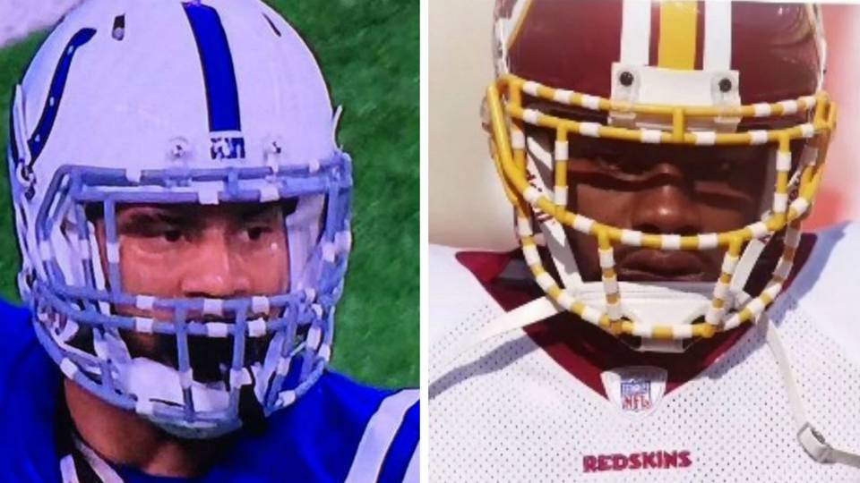 c3b79e9eb0f LaRon Landry pays tribute to Sean Taylor with facemask tape