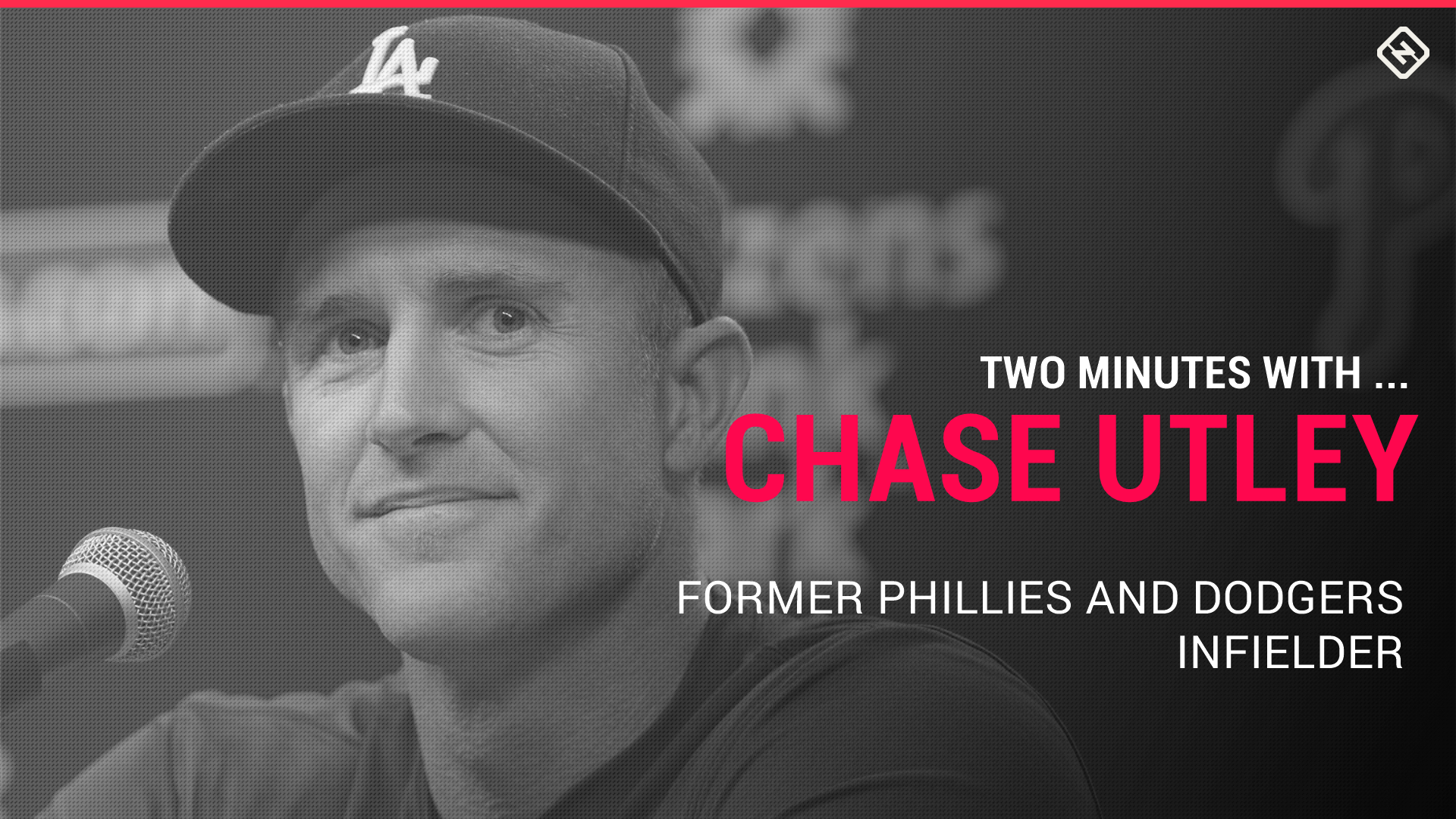 Chase Utley talks 'It's Always Sunny in Philadelphia,' playing with attitude and life without cheese