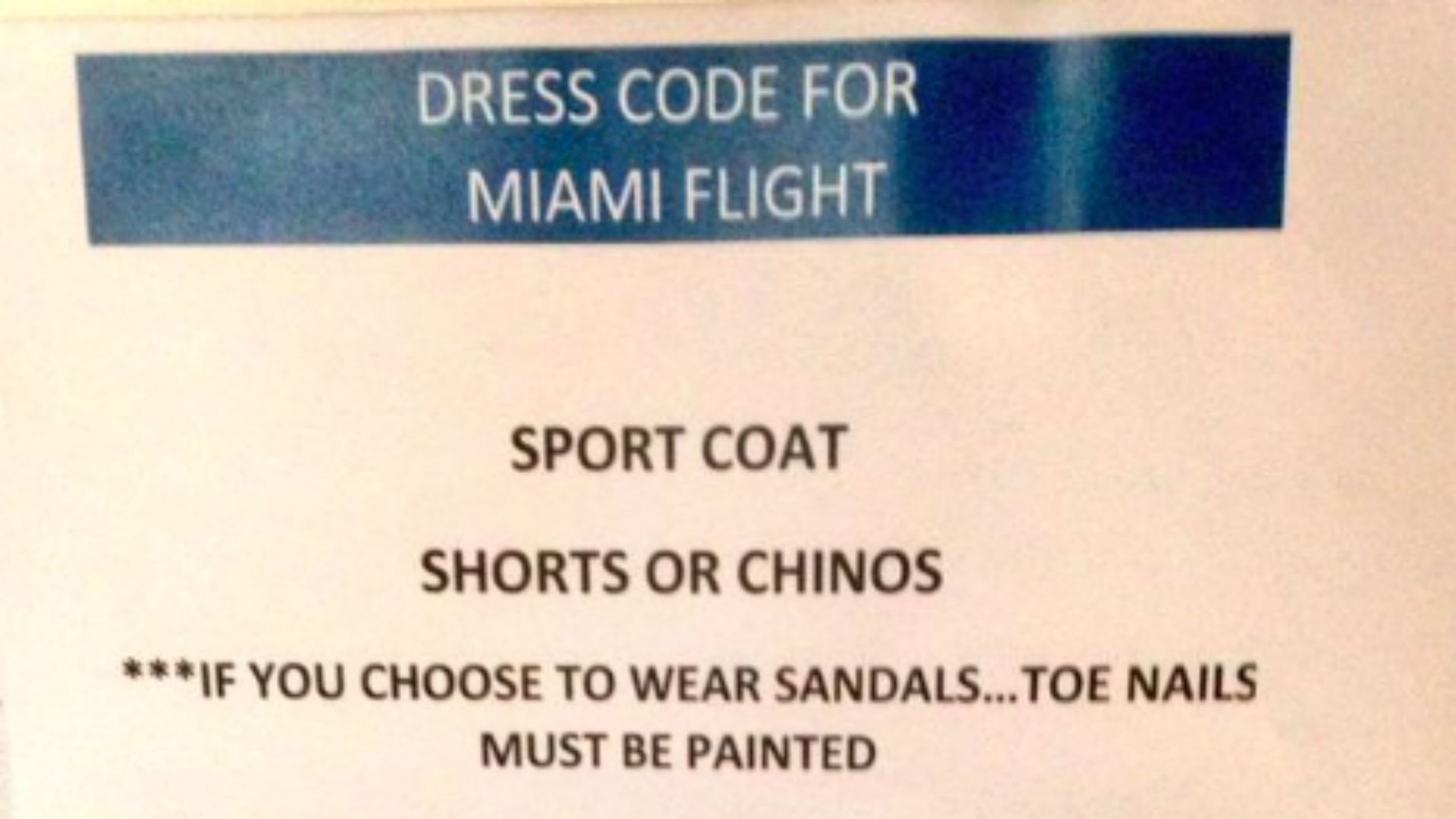 Cubs' dress code requires toenail polish