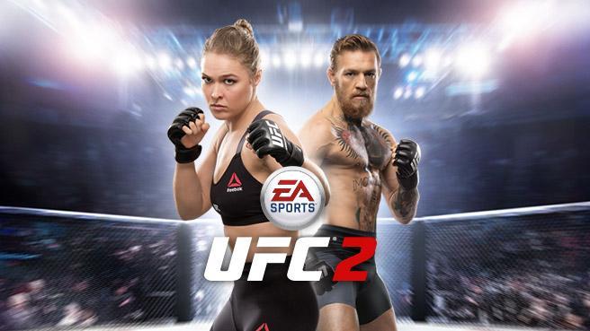 EA Sports UFC 2 cover