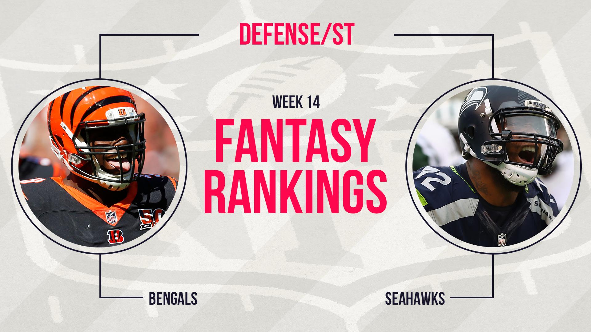 Week 14 Fantasy Football Rankings: Defense   Fantasy   Sporting News