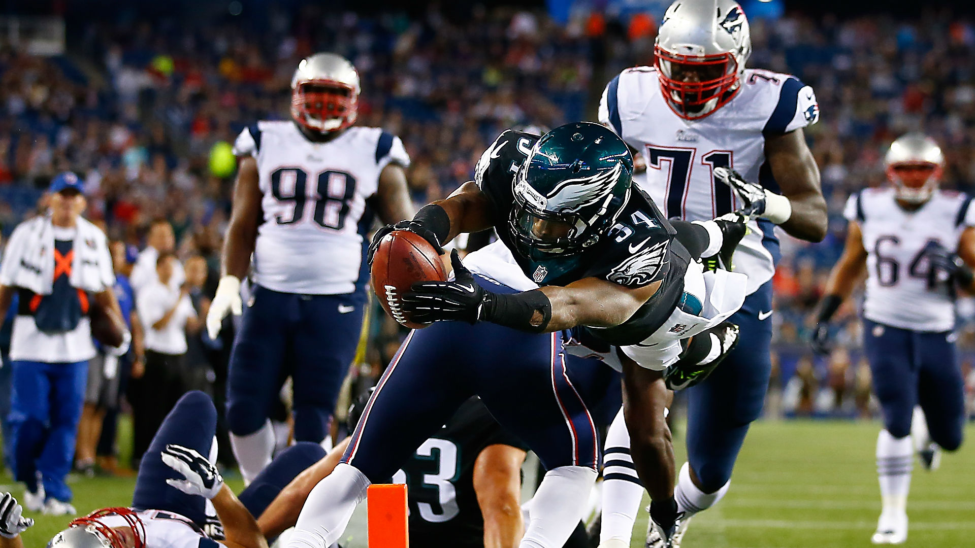 Eagles vs. Patriots, Week 13: Time, TV channel, injuries ...