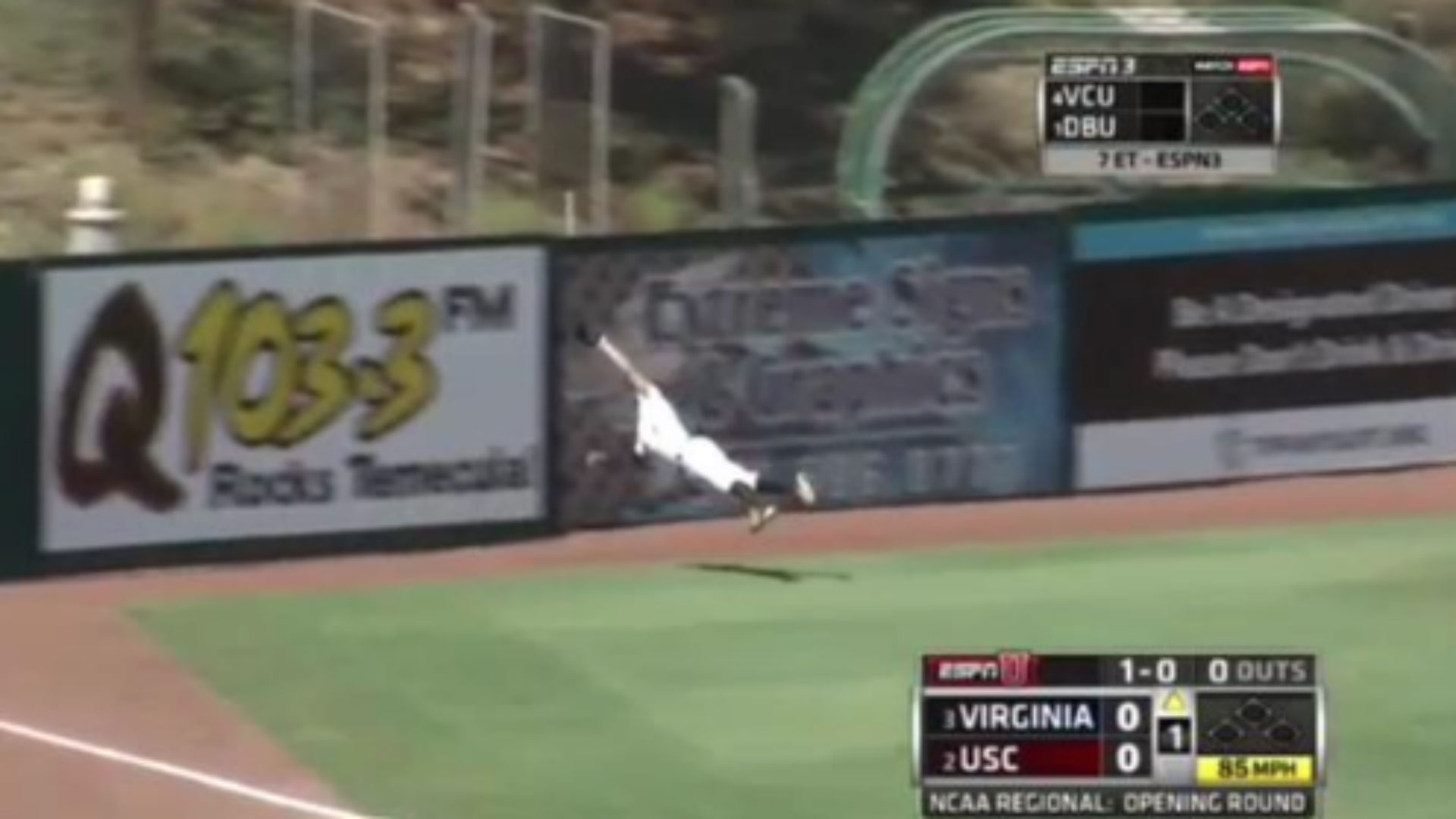Top 5 plays from day 1 of the NCAA Baseball Tournament