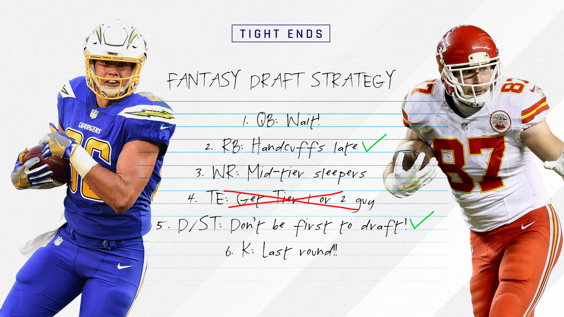 2017 Fantasy Football Rankings Tiers, Draft Strategy: Tight ends ...