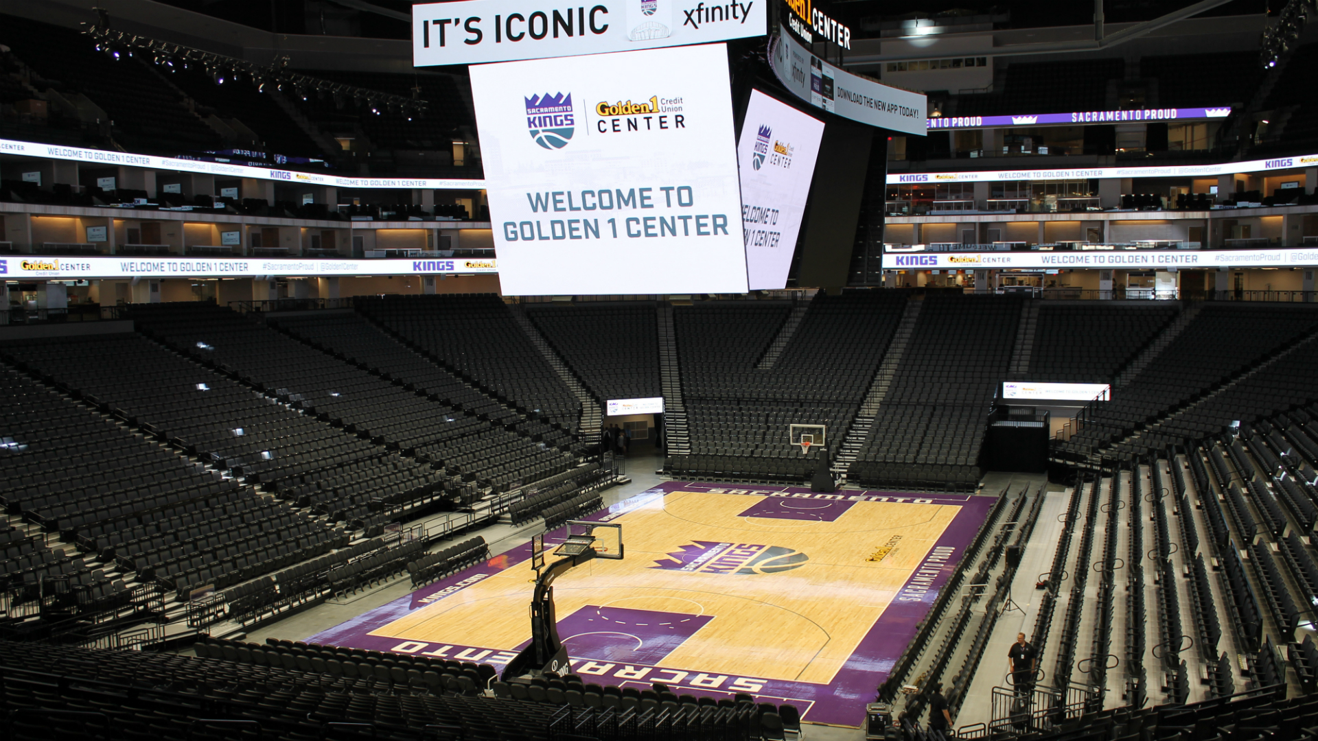 Sacramento kings new arena webcam