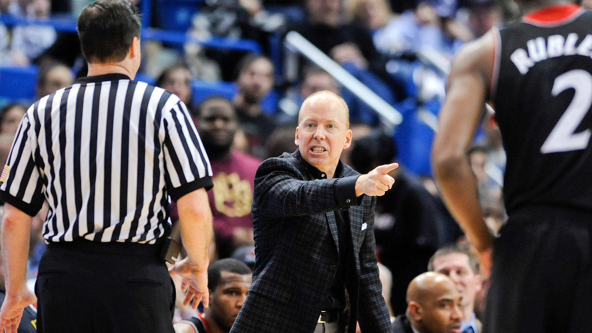Mick Cronin Angry That Ted Valentine Got In His Face (VIDEO)