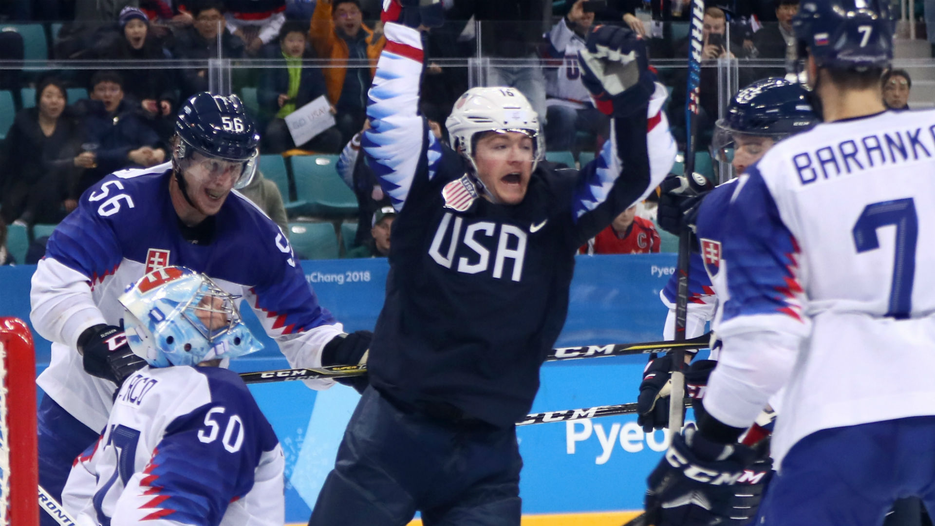 Ryan Donato, college kids get USA men back on track with ...