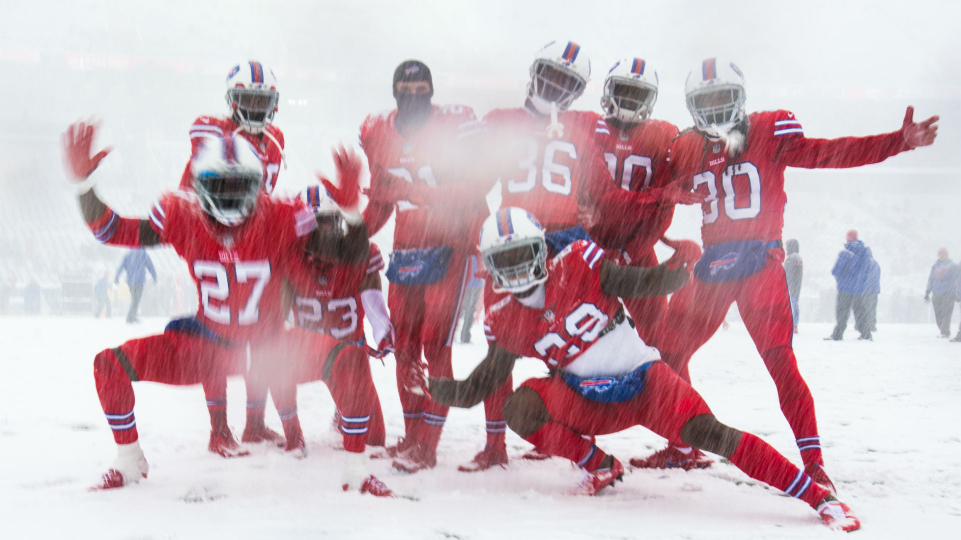 snow way  bills play colts in blizzard