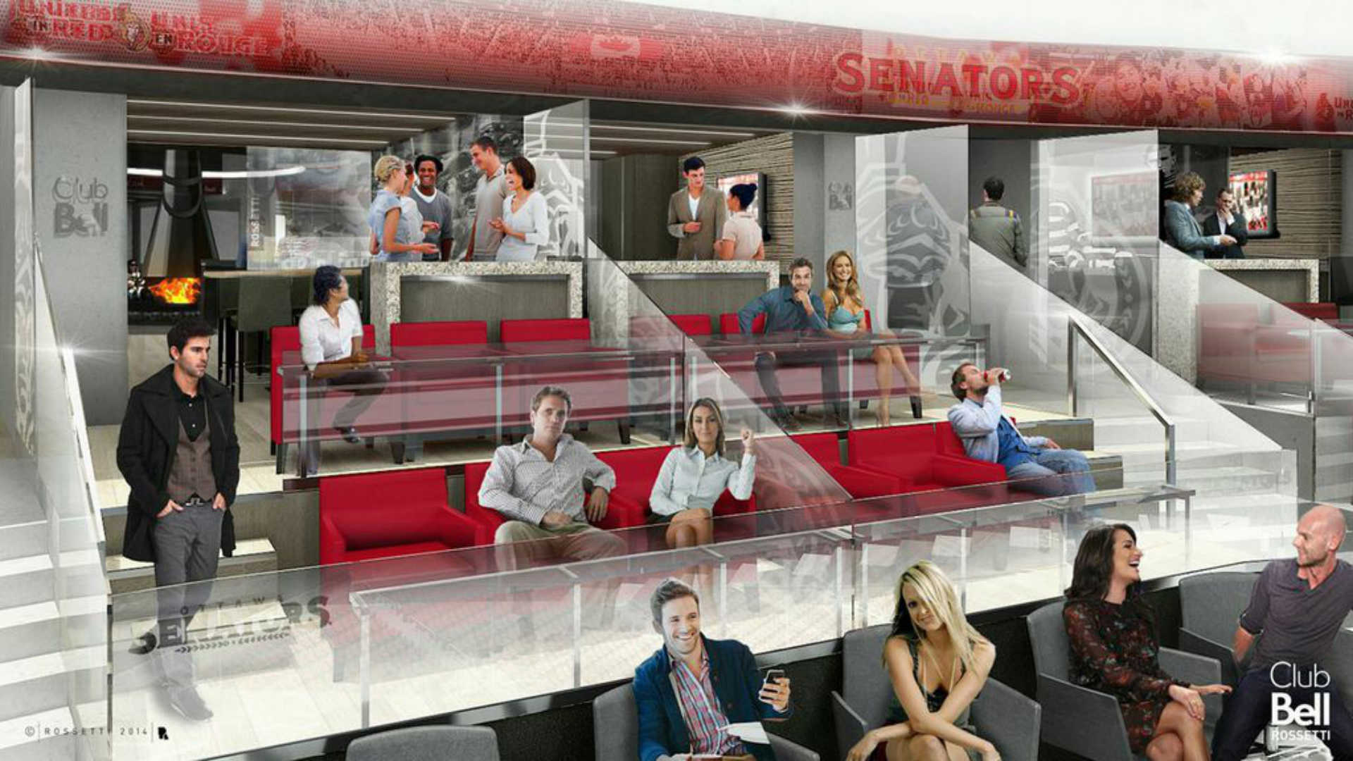 Major Seating Renovations Coming To Canadian Tire Centre