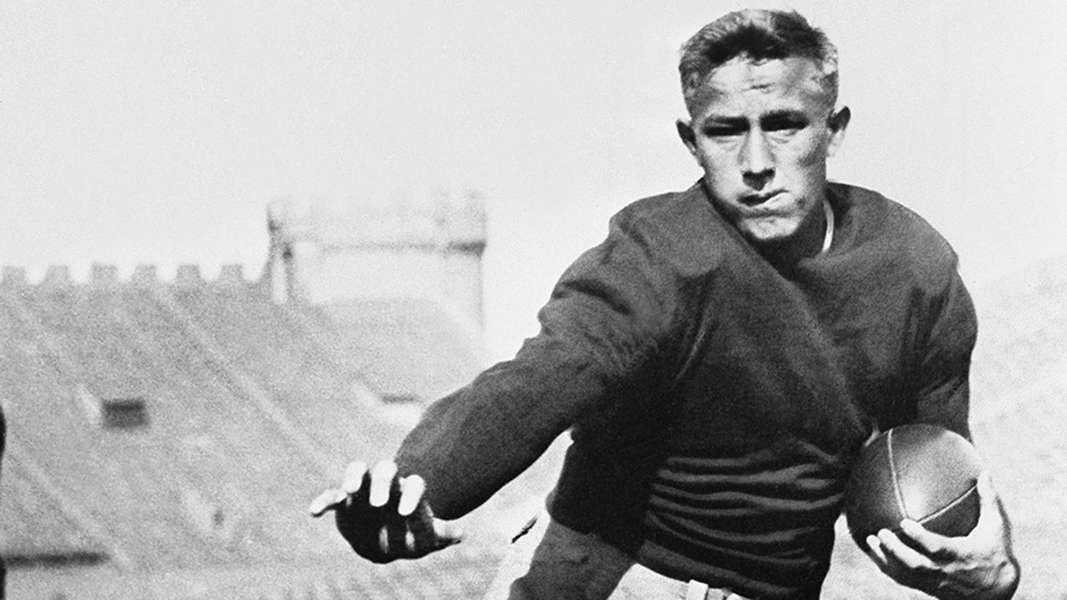 Jay Berwanger Strangest moments in NFL Draft history Sporting News