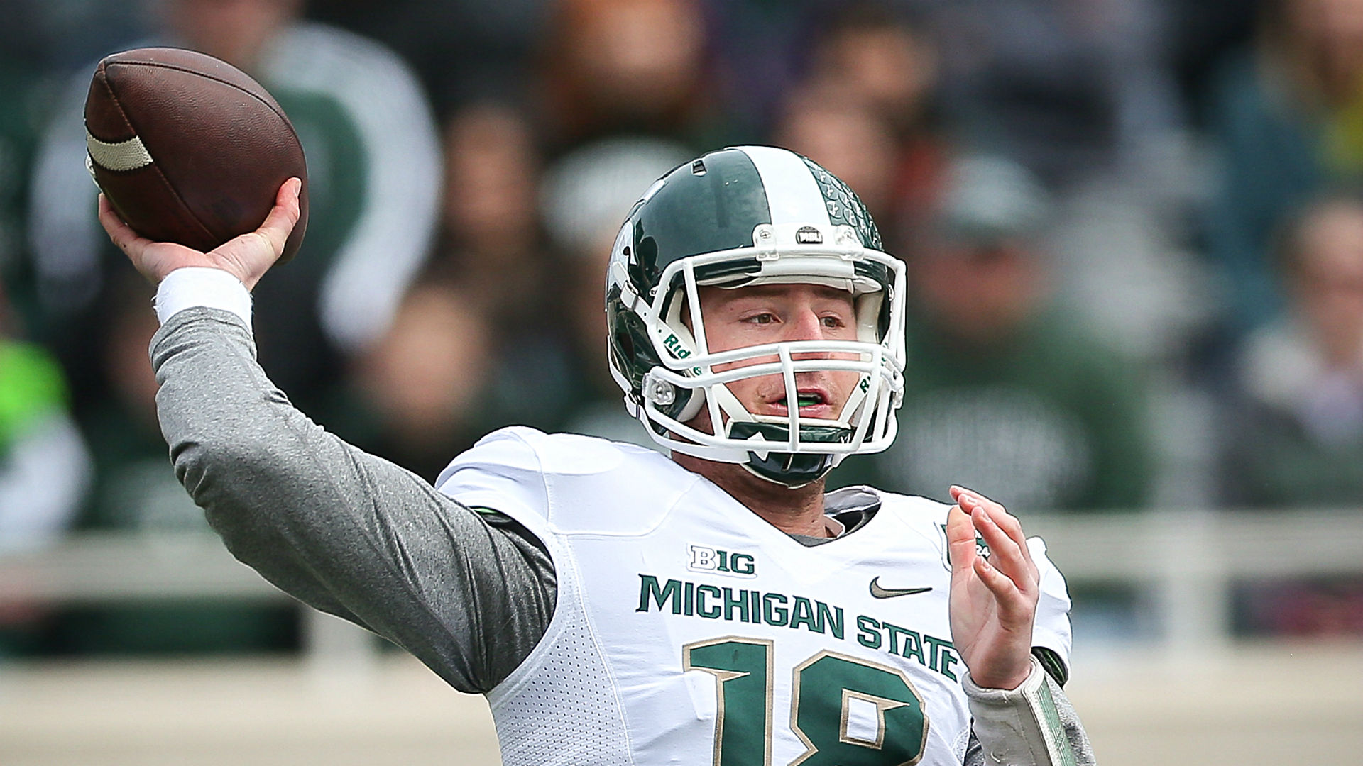 Only one thing left to do for Michigan State's Connor Cook