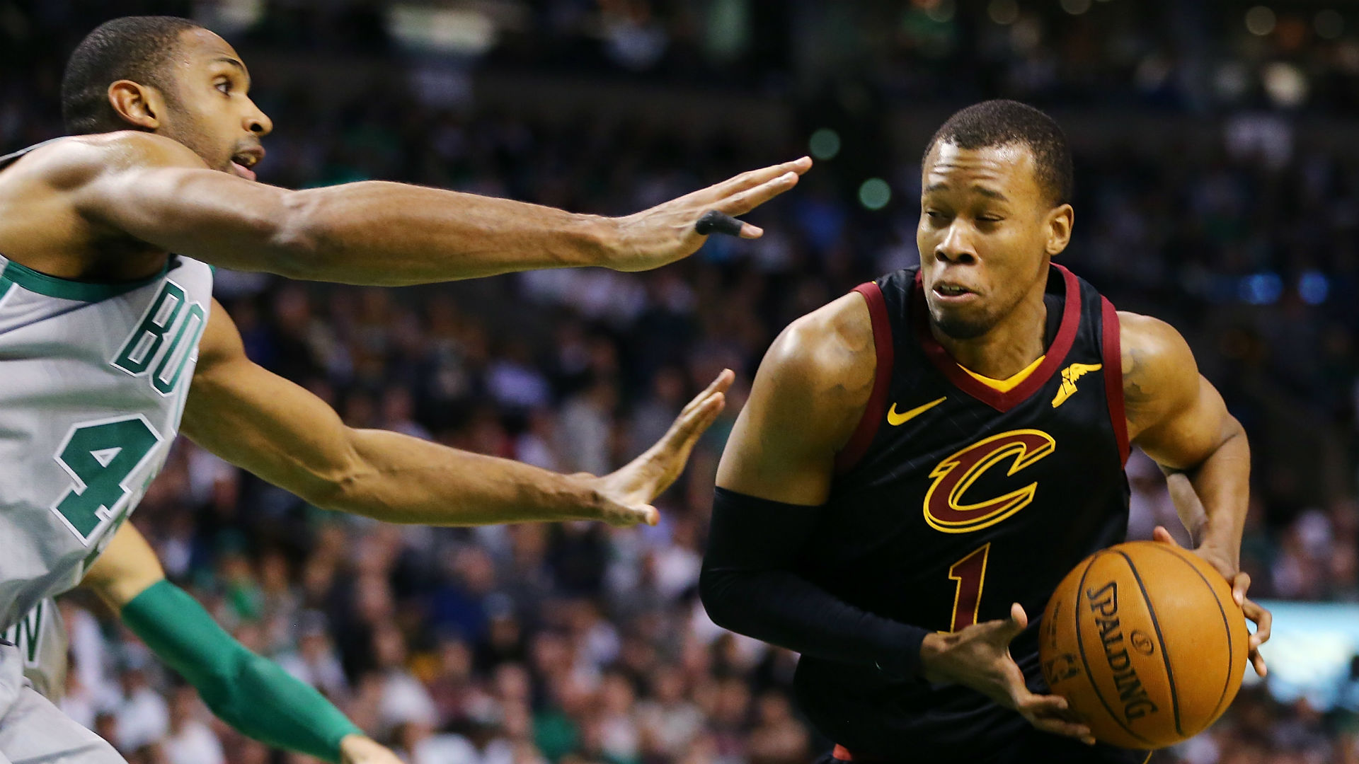 Look Cavs destroy Celtics on Pierce's jersey retirement night