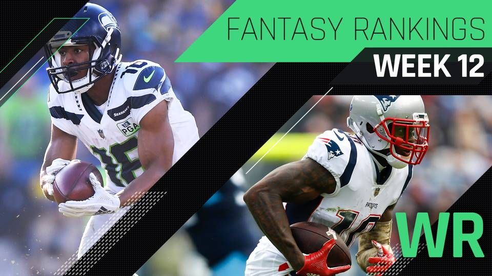 Week 12 Fantasy Rankings Wr Fantasy Sporting News