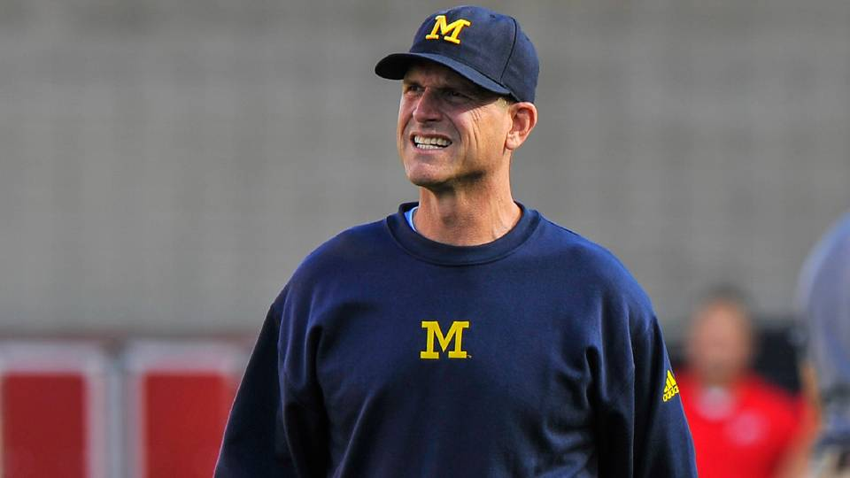 Jim Harbaugh Says He Doesn T Miss The Nfl Is Embracing Challenge At