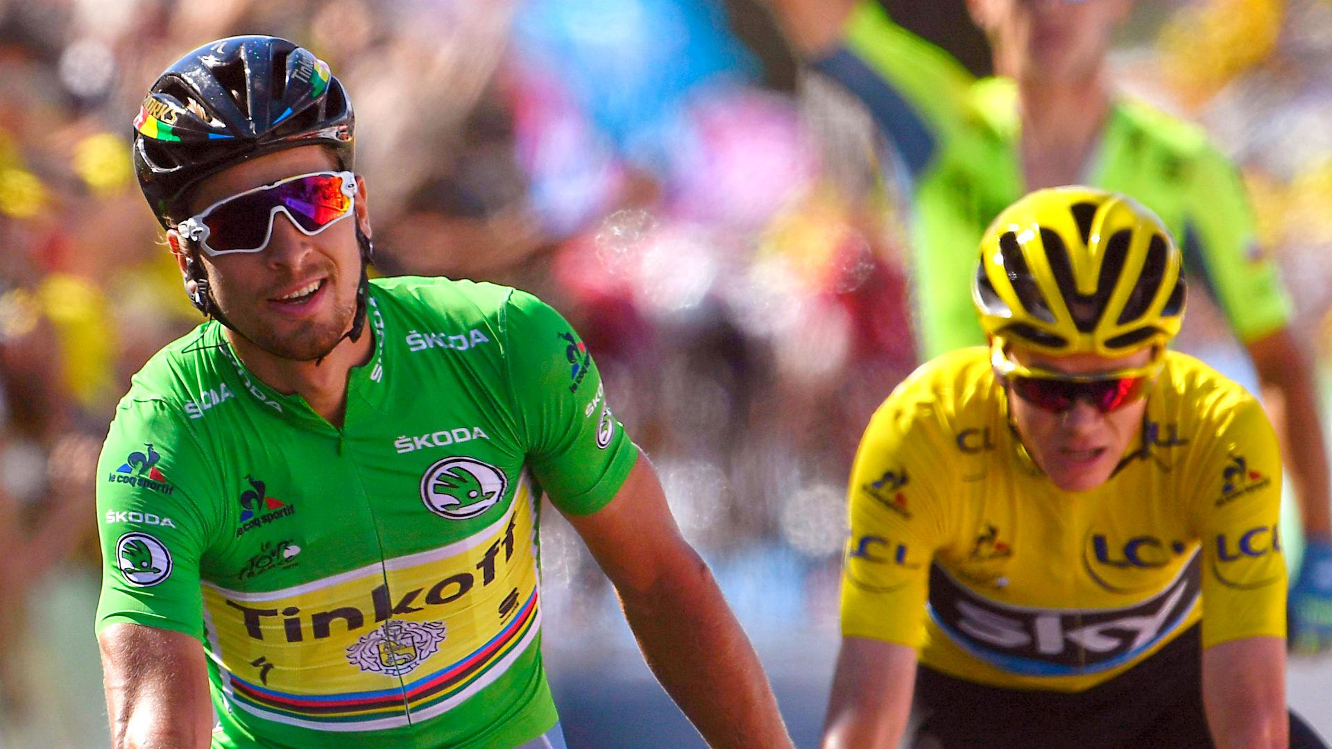 Tour de France 2016: Peter Sagan nips Chris Froome in 11th ...
