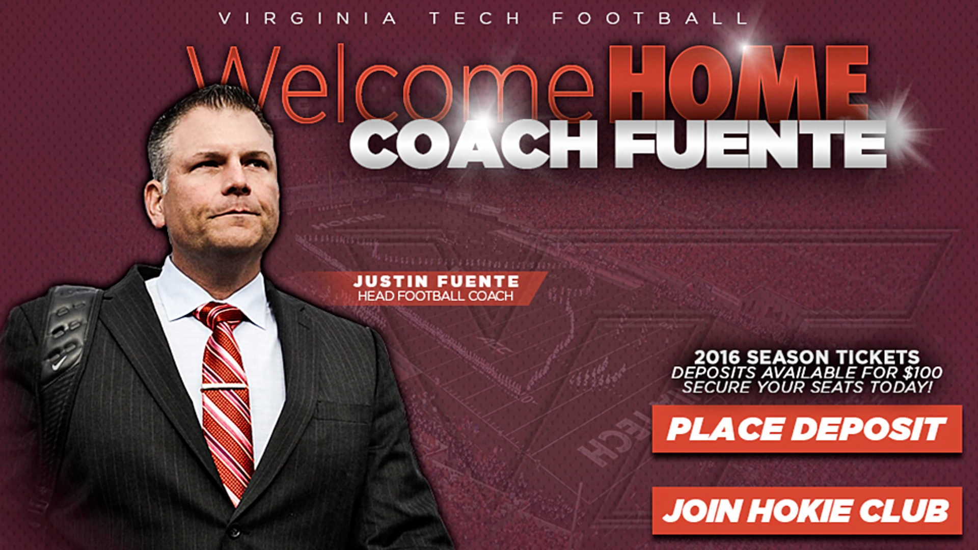 Justin Fuente confirmed as Virginia Tech coach