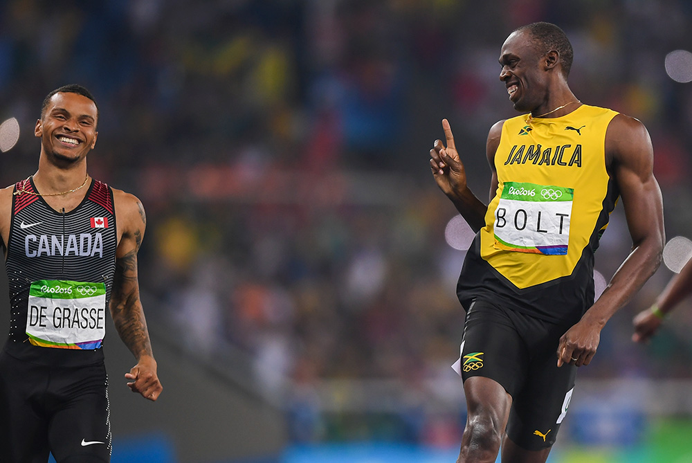 Bolt breaks 10 seconds in Monaco win