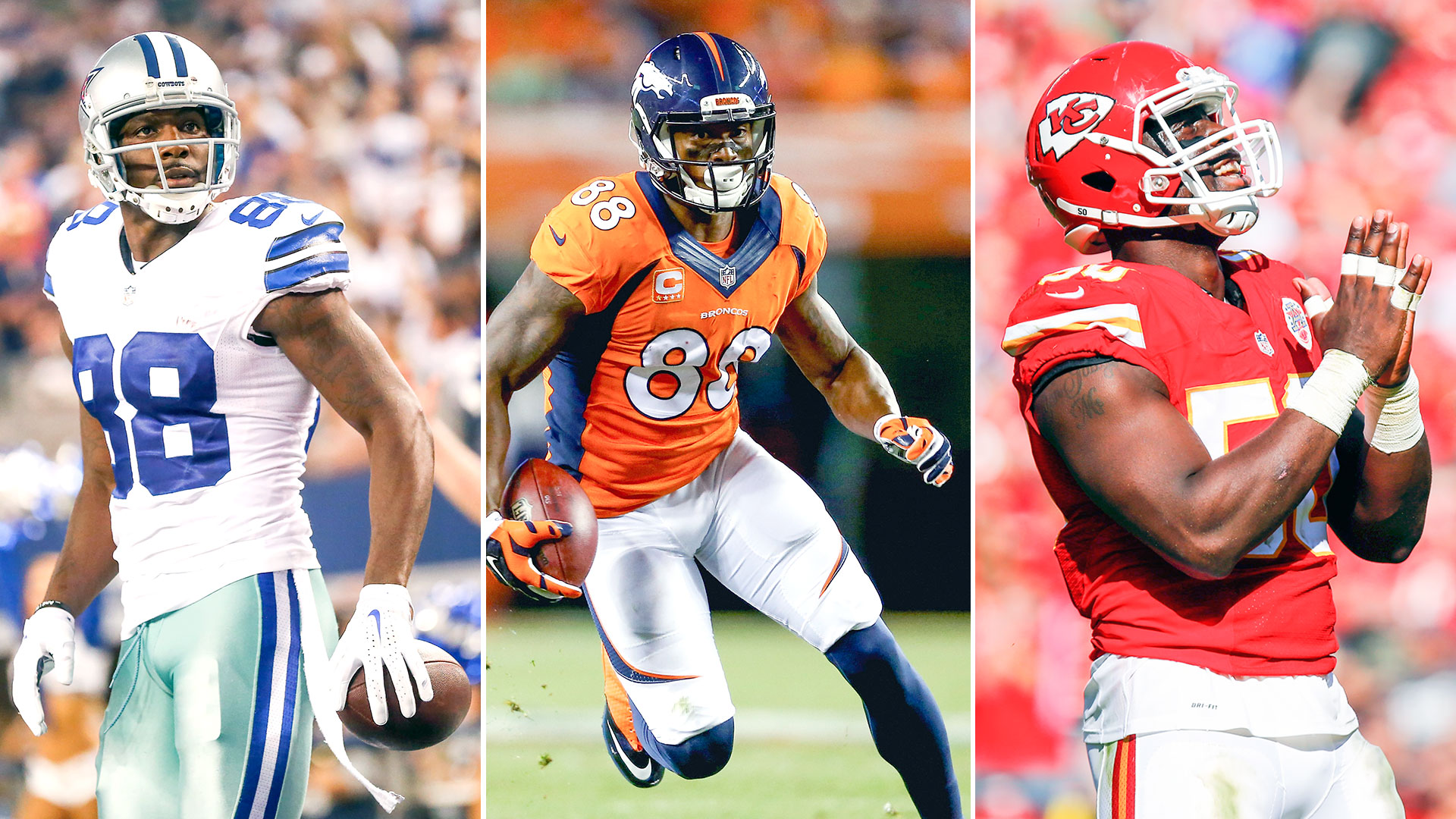 New contracts for Dez Bryant Demaryius Thomas Justin Houston