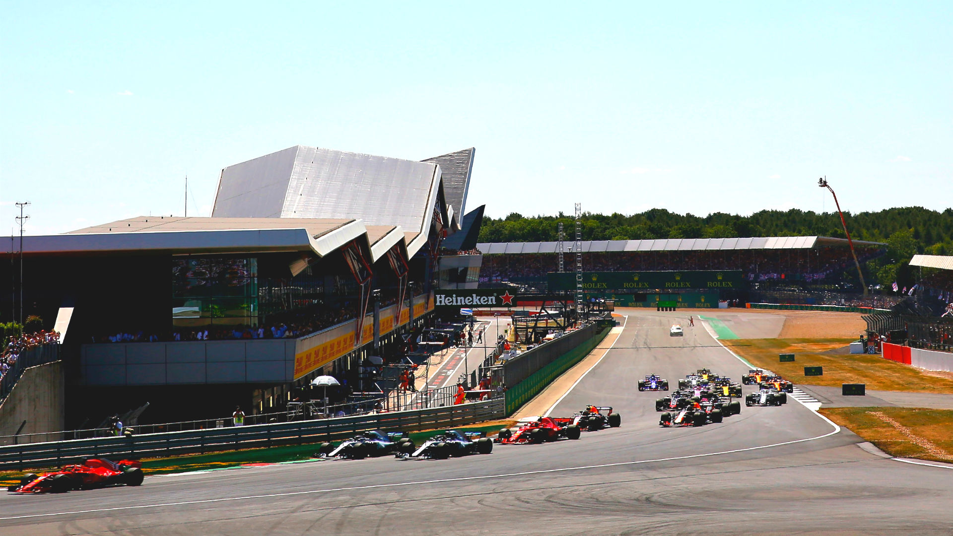 F1 British Grand Prix: Start time, TV channel, how to stream 2019 race