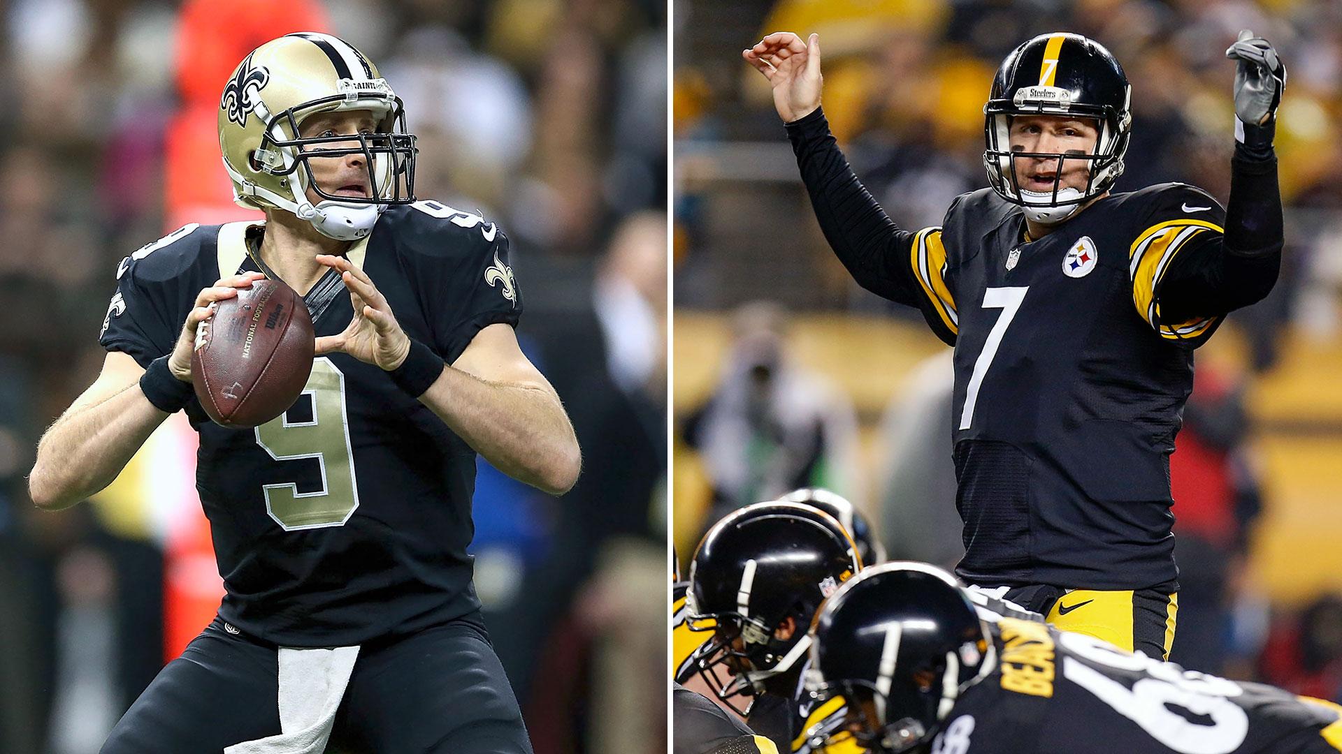 Fantasy Football Draft Decision Drew Brees or Ben Roethlisberger