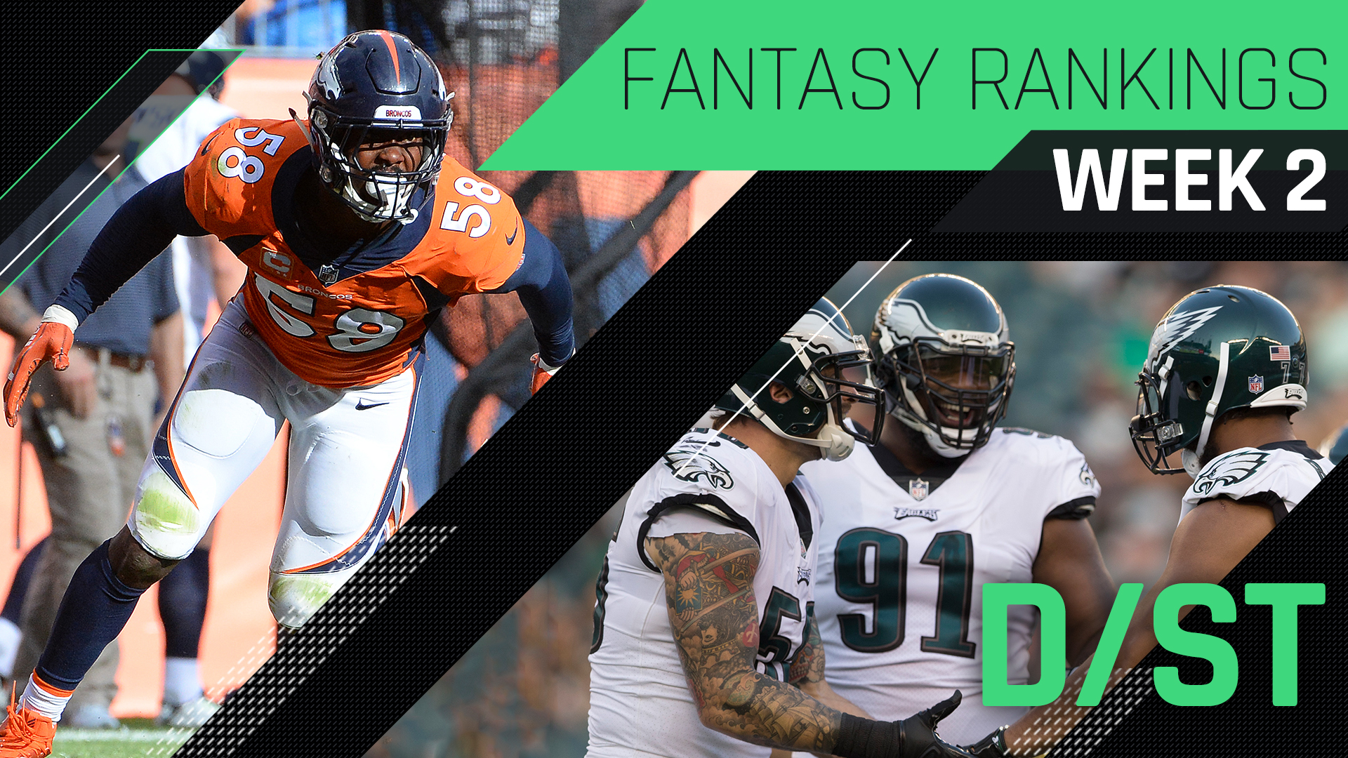 Week 2 Fantasy Football Rankings: Defense