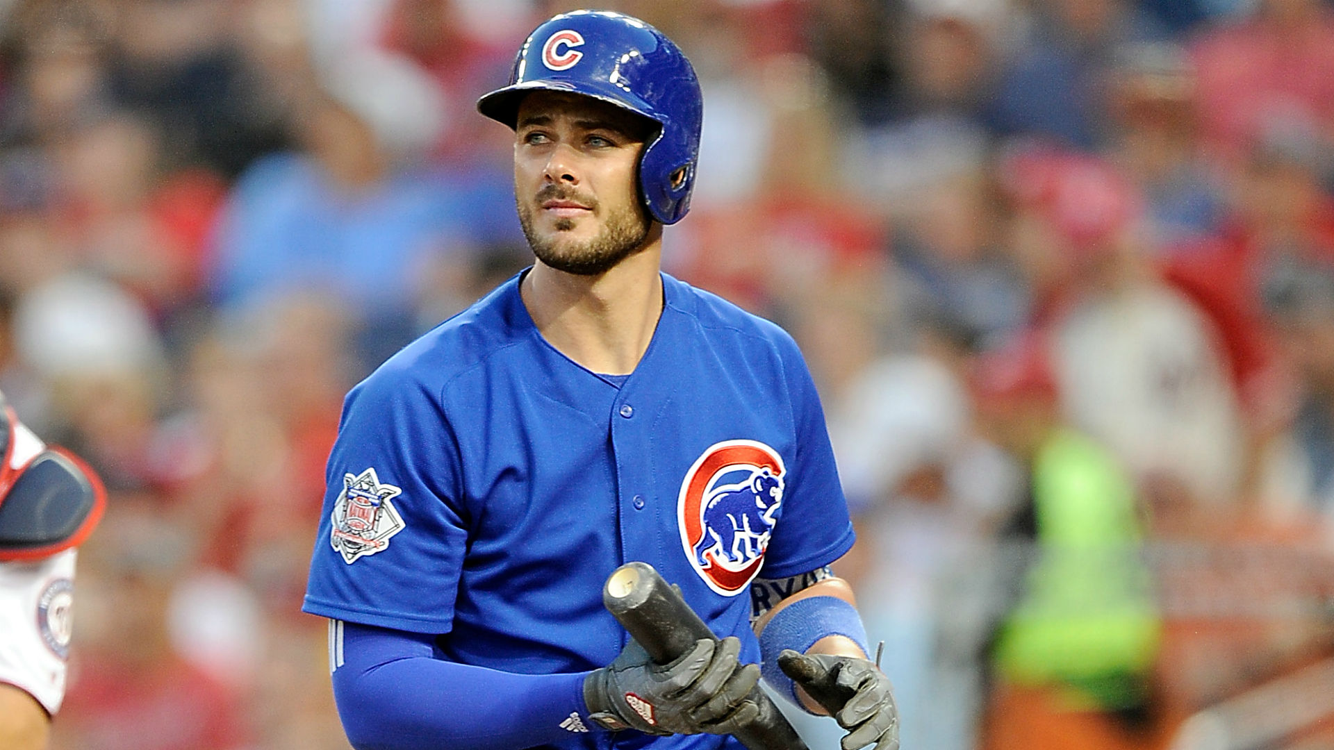 Cubs' Kris Bryant exits game vs Nationals with apparent ankle injury MLB Sporting News