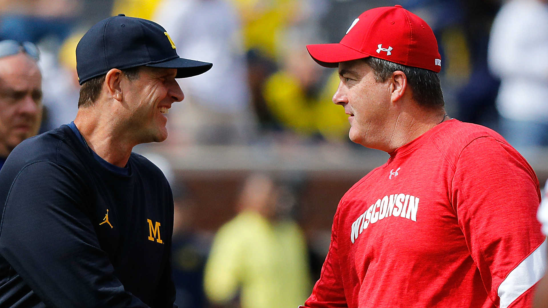 No. 12 Michigan Romps No. 15 Wisconsin 38-13