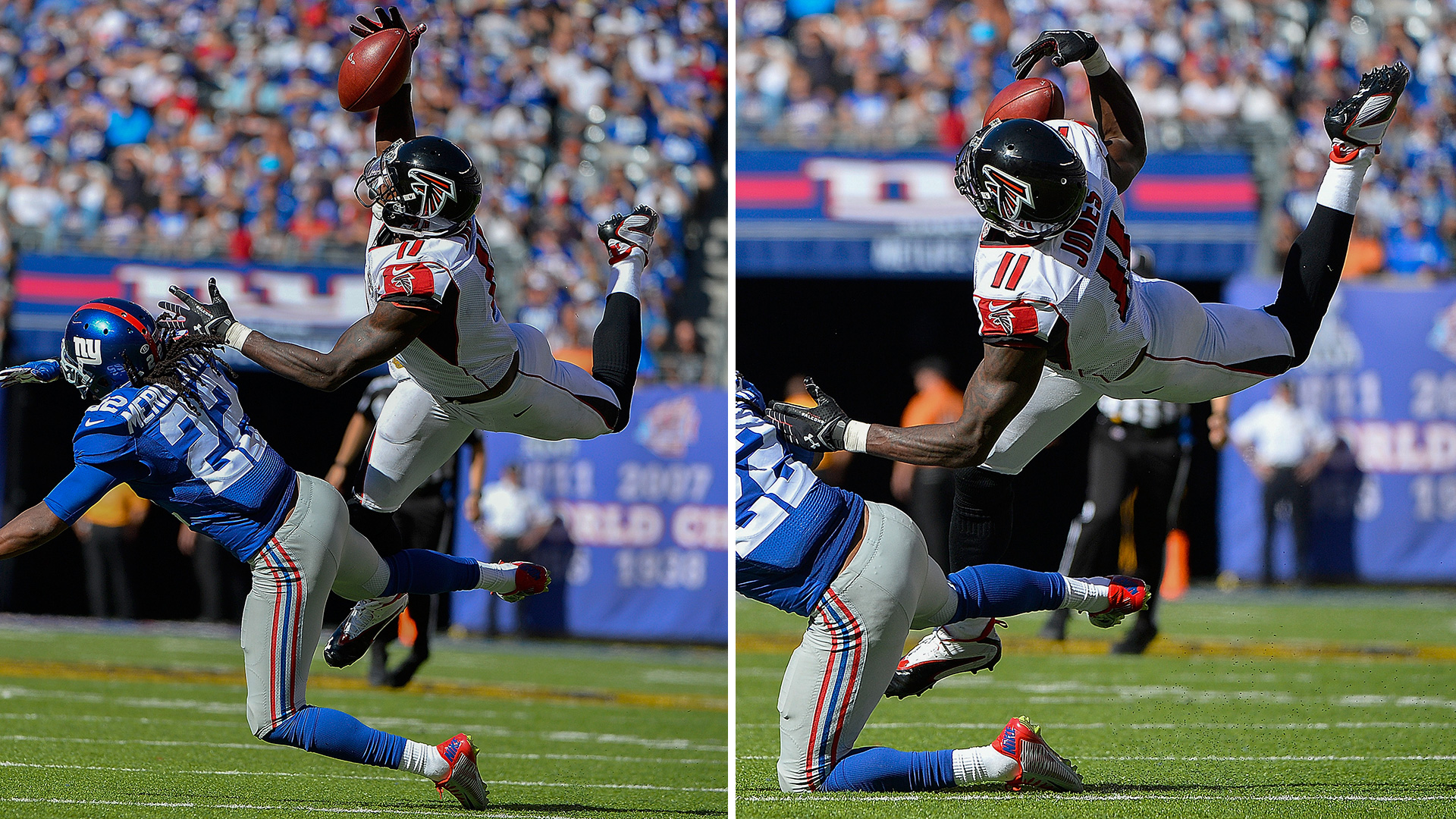 Julio Jones makes an unbelievable grab NFL