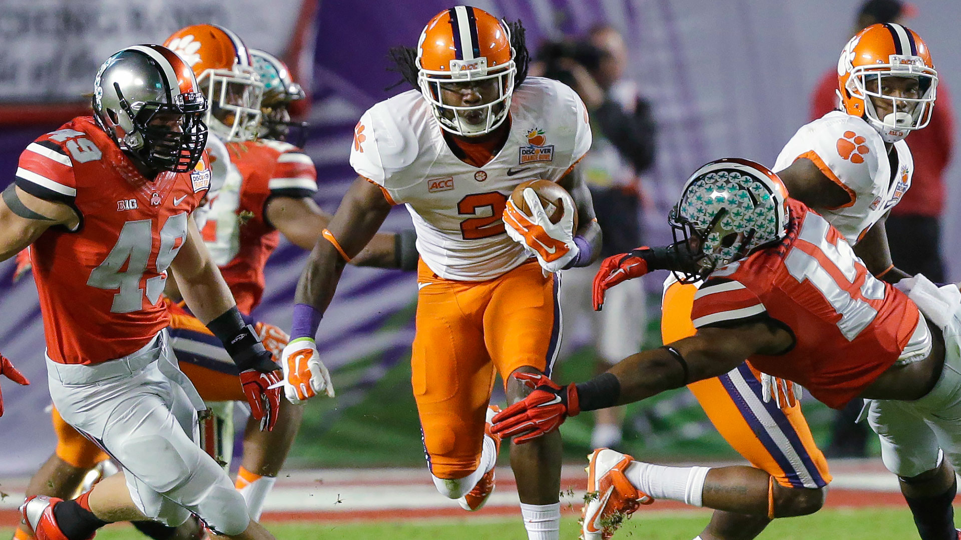 2014 NFL Draft -- Bills select Sammy Watkins with No. 4 pick