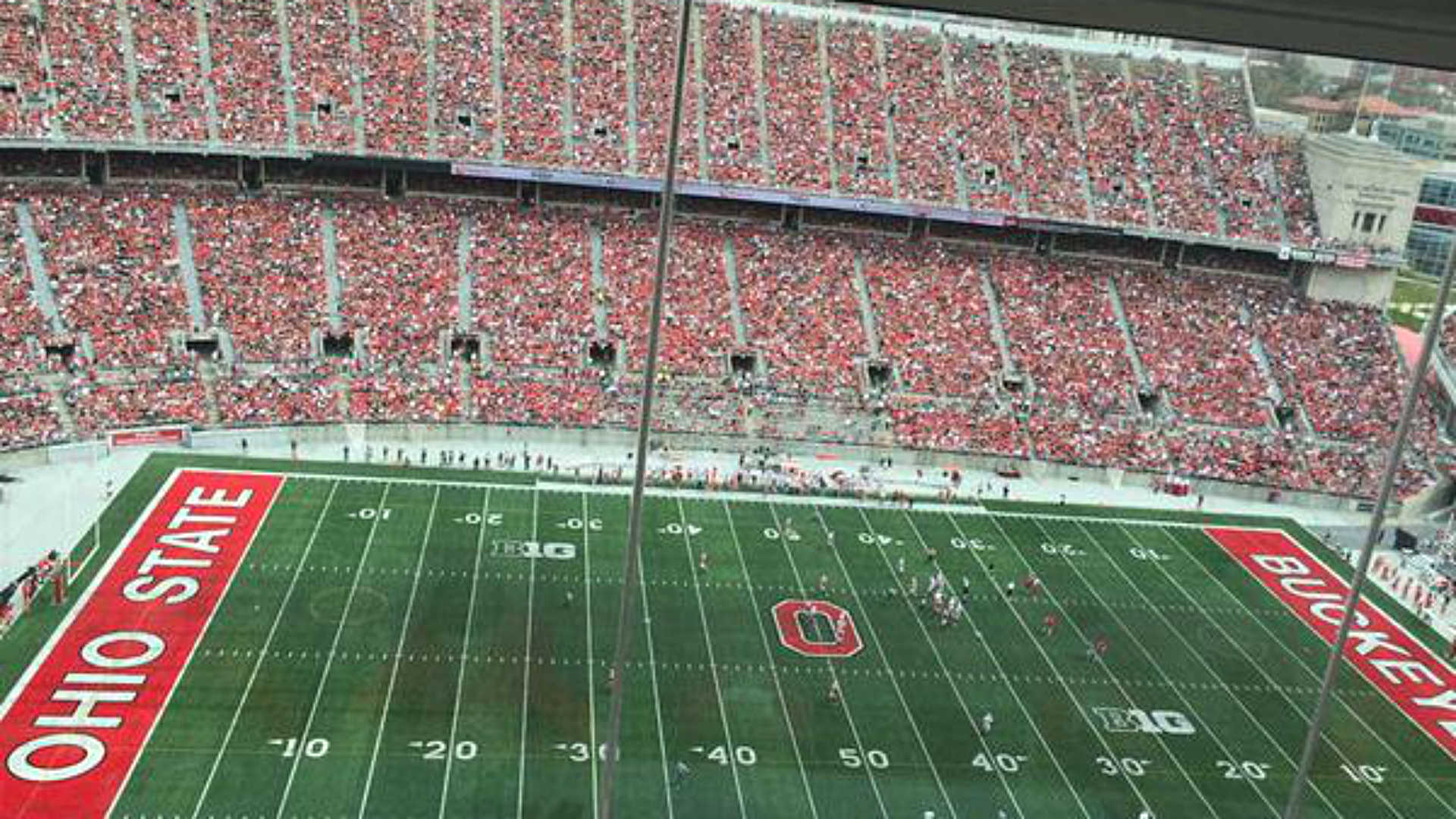 Ohio State sets spring game attendance record at 99,931