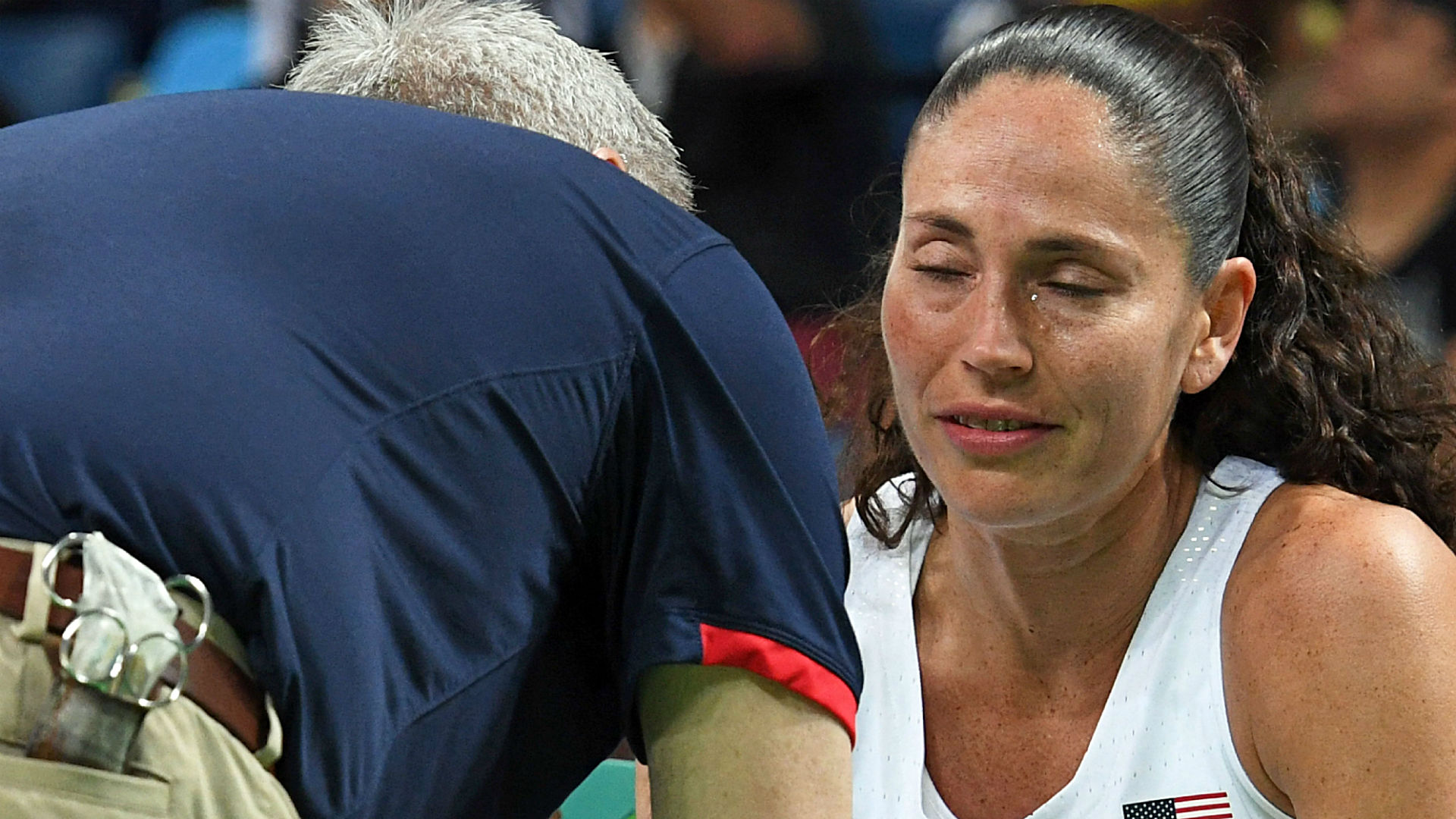 rio olympics 2016 sue bird injury creates smidge of drama