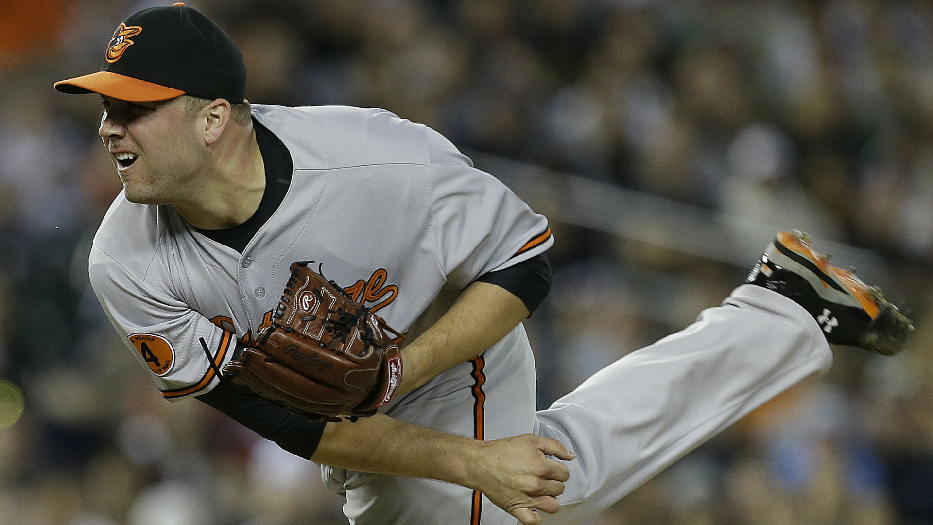 Saves up for grabs in Baltimore with Orioles closer Hunter on DL